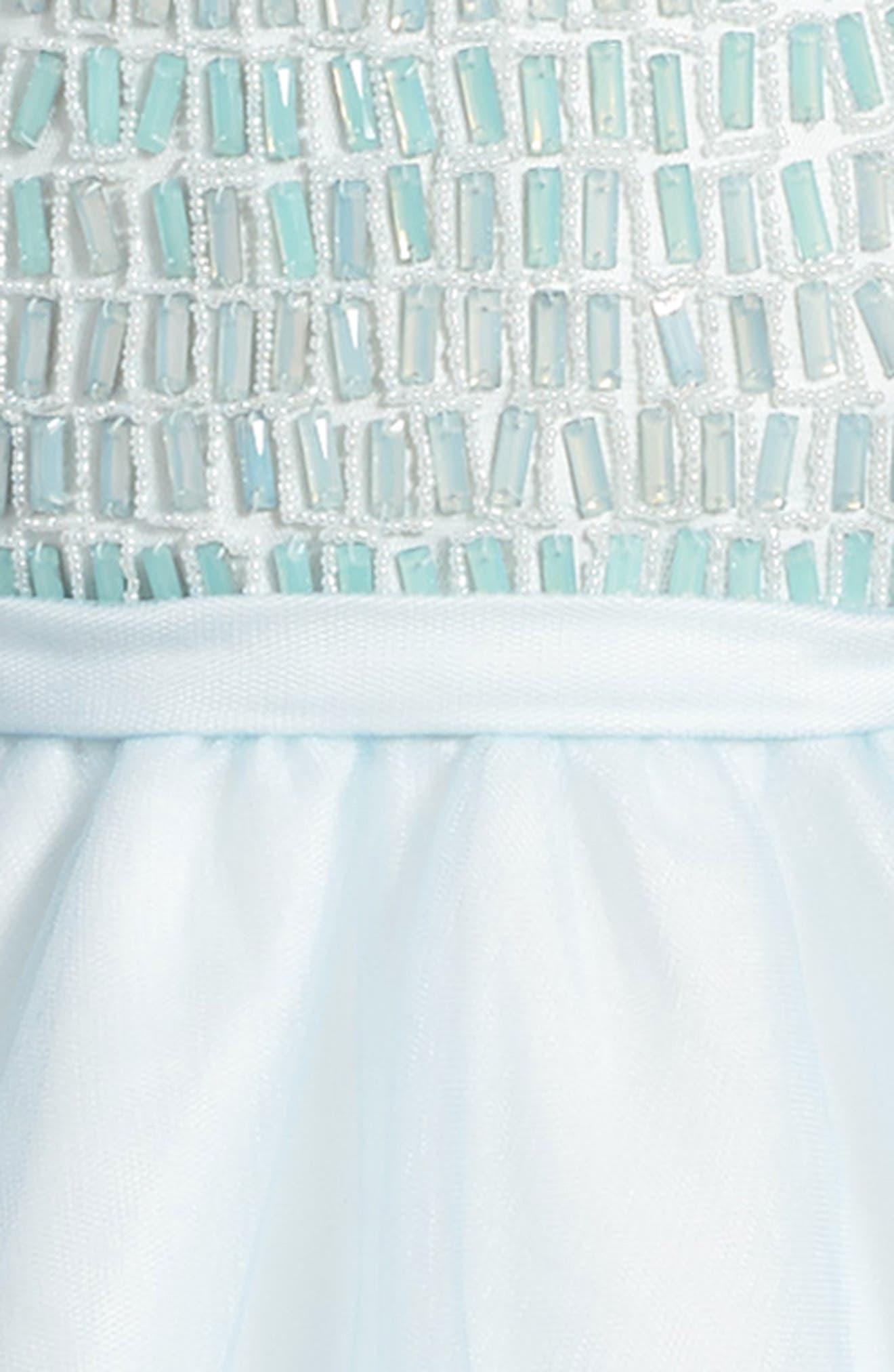 Alternate Image 3  - Joan Calabrese for Mon Cheri Beaded Dress (Little Girls & Big Girls)
