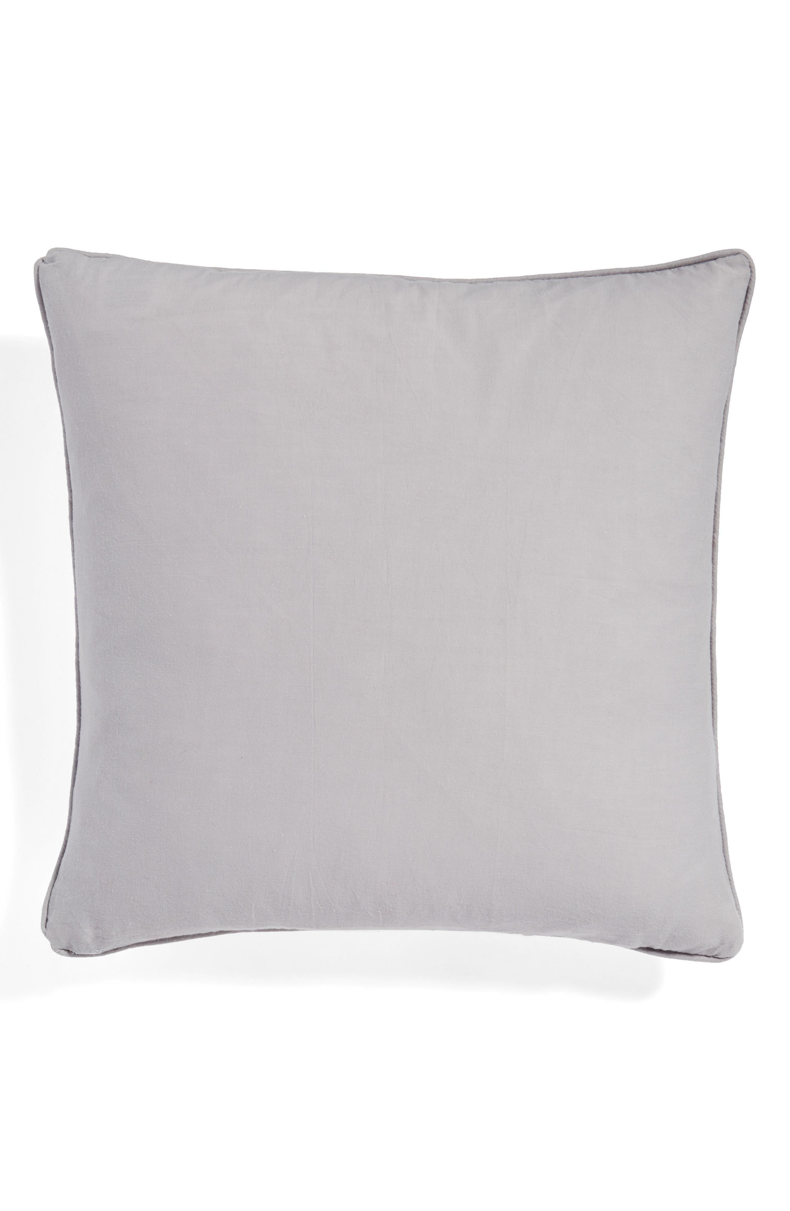Alternate Image 2  - Levtex Sequin Reindeer Pillow