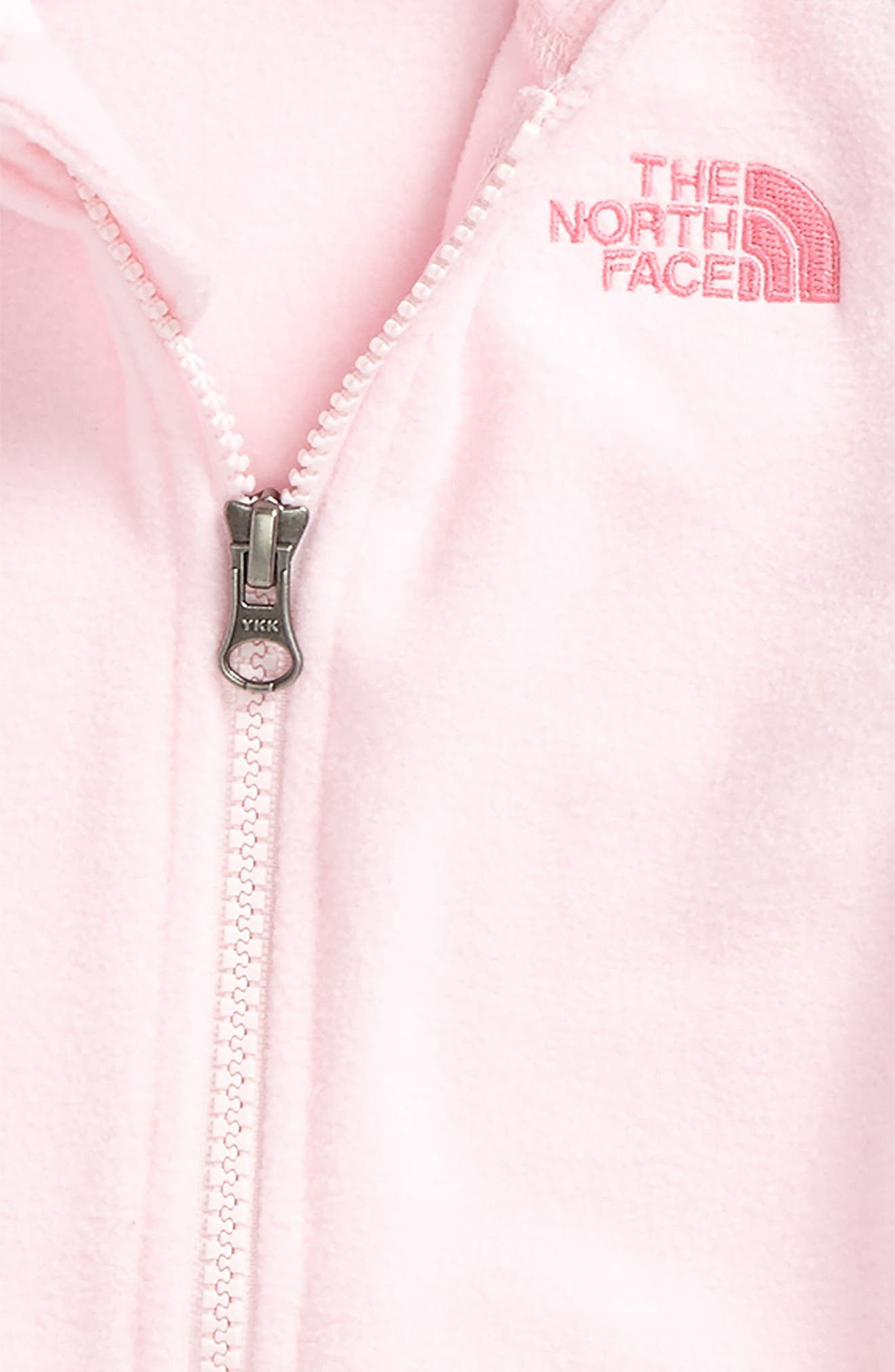 Alternate Image 2  - The North Face Glacier Full Zip Hoodie (Toddler Girls & Little Girls)
