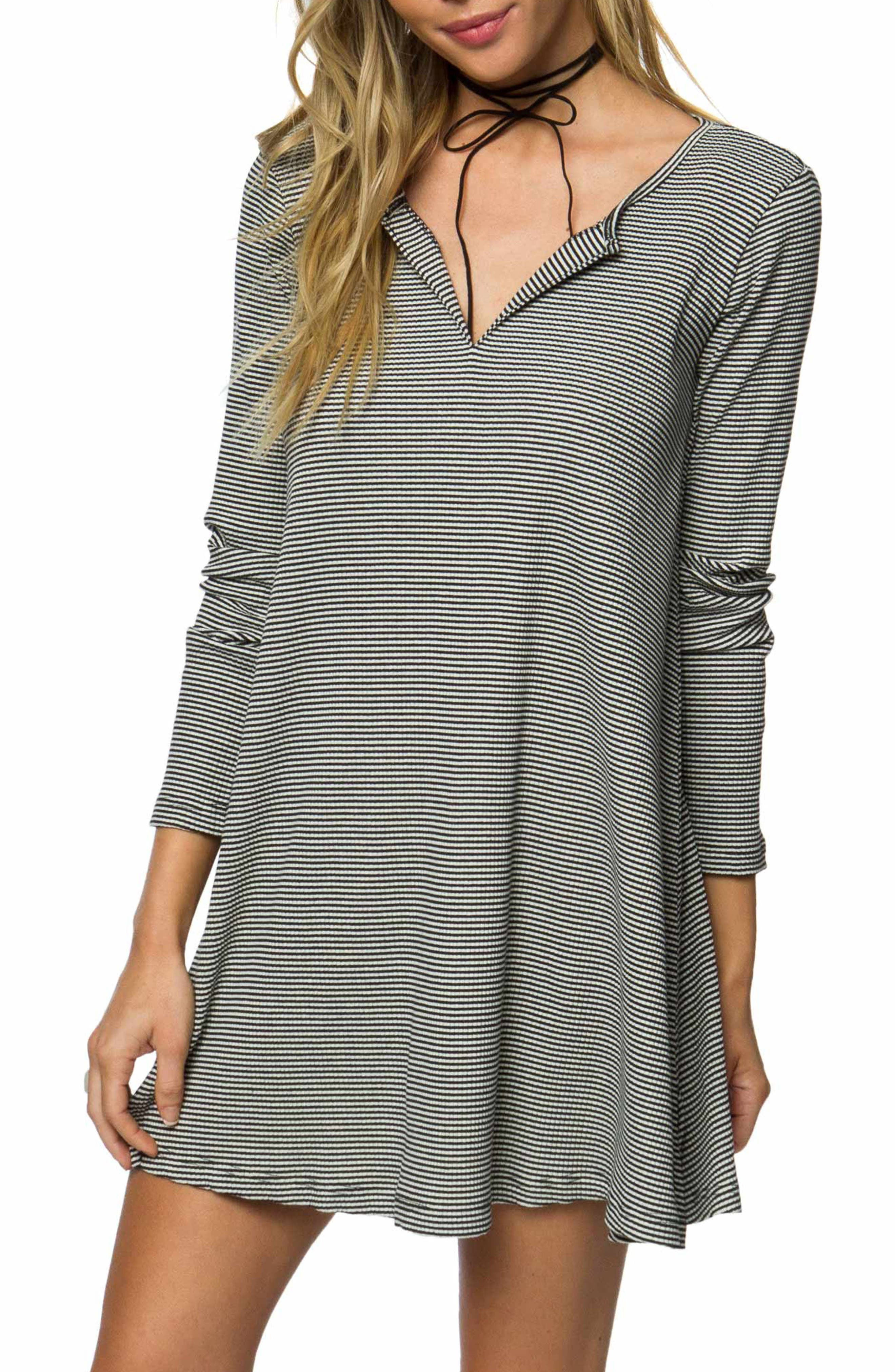 O'Neill Summit Stripe Knit Dress