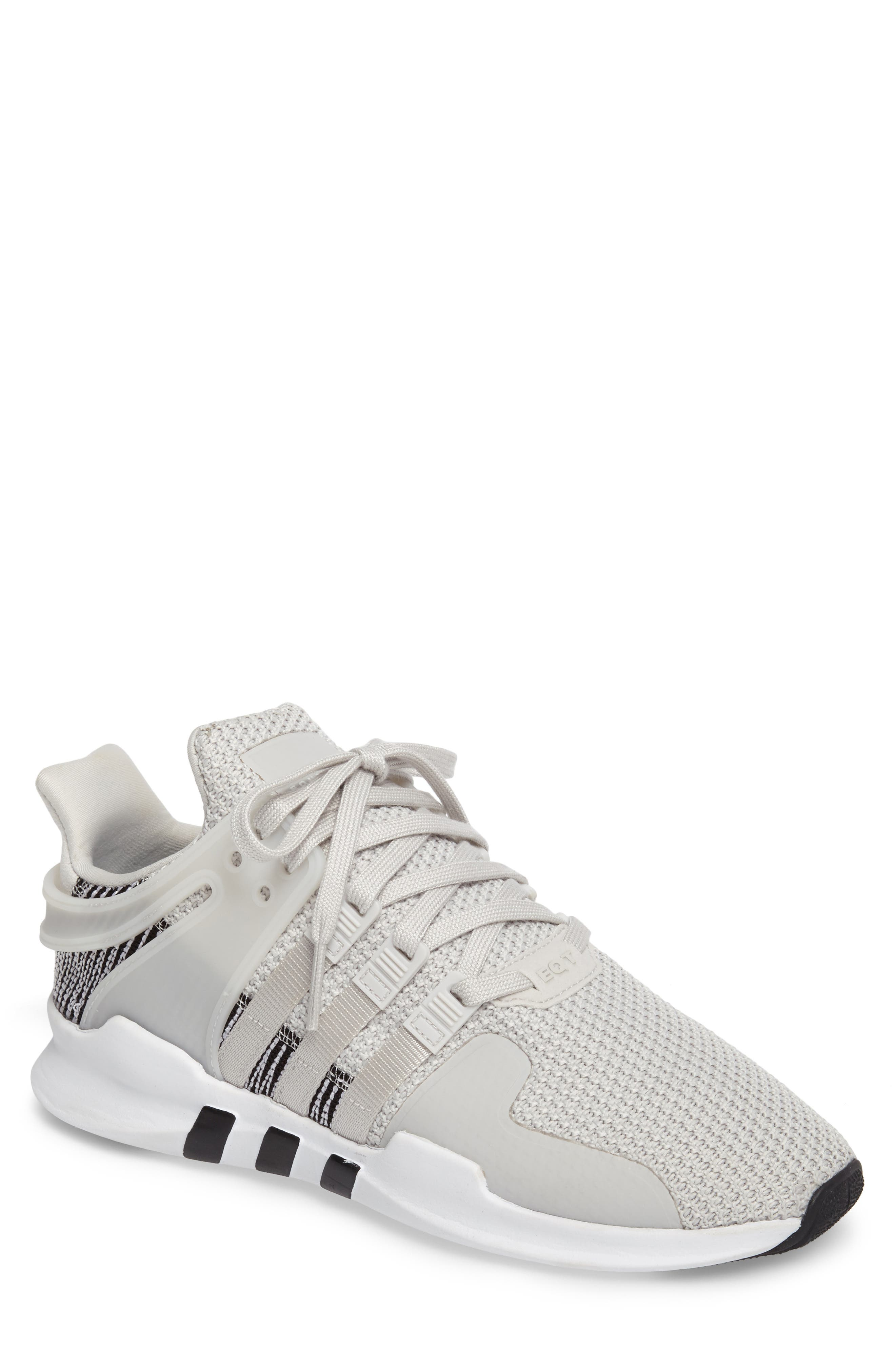 adidas women's black eqt support adv sneakers