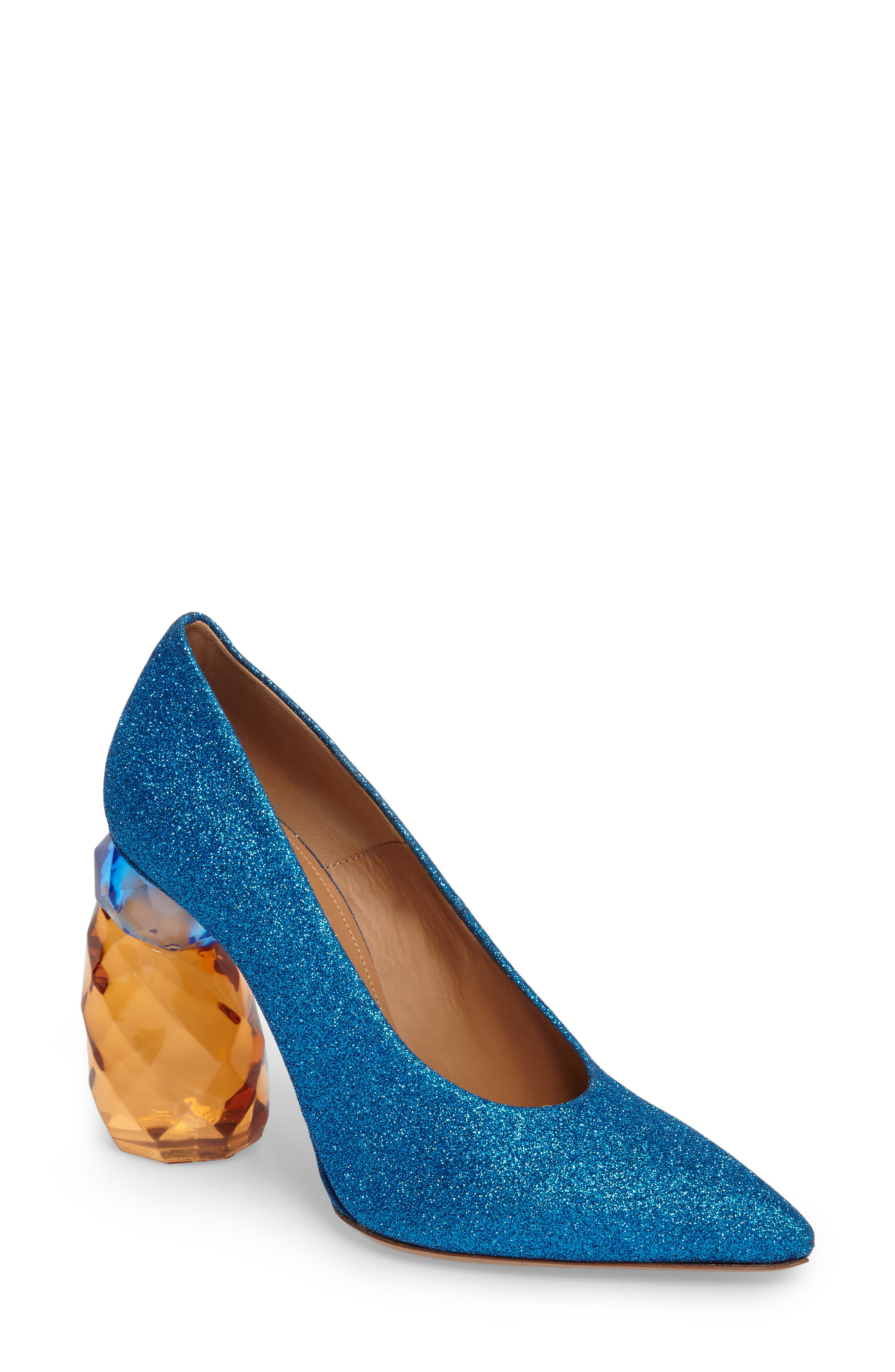 Alternate Image 1 Selected - Dries Van Noten Jewel Heel Pump (Women)