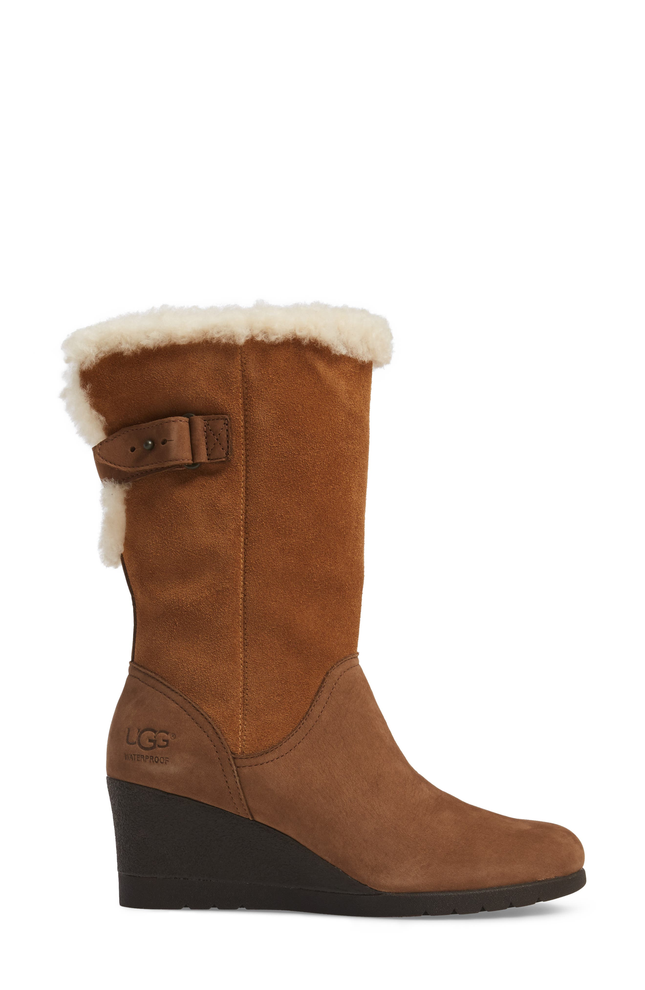 Alternate Image 3  - UGG® Edelina Waterproof Wedge Boot (Women)