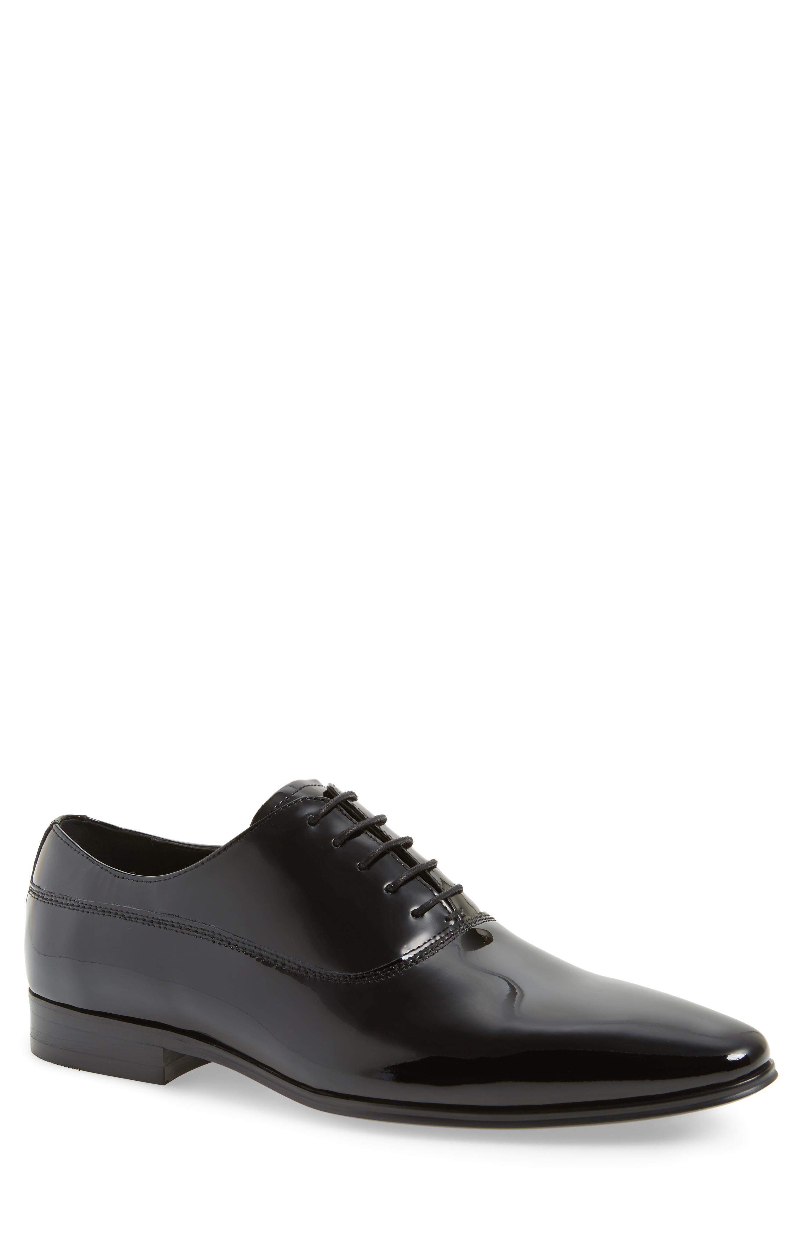 Mens size 7 black dress shoes clip