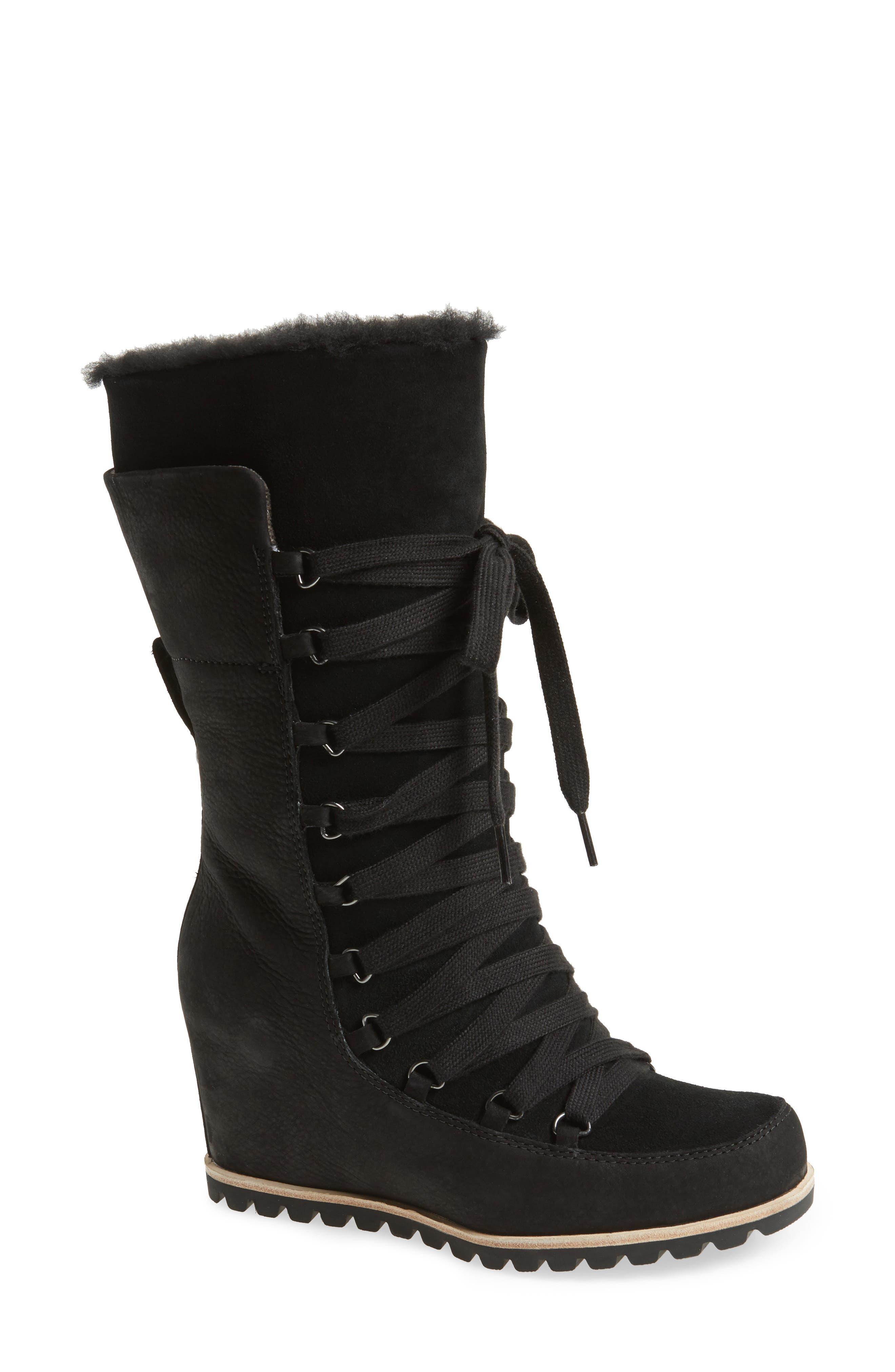 UGG® Mason Waterproof Wedge Boot (Women)