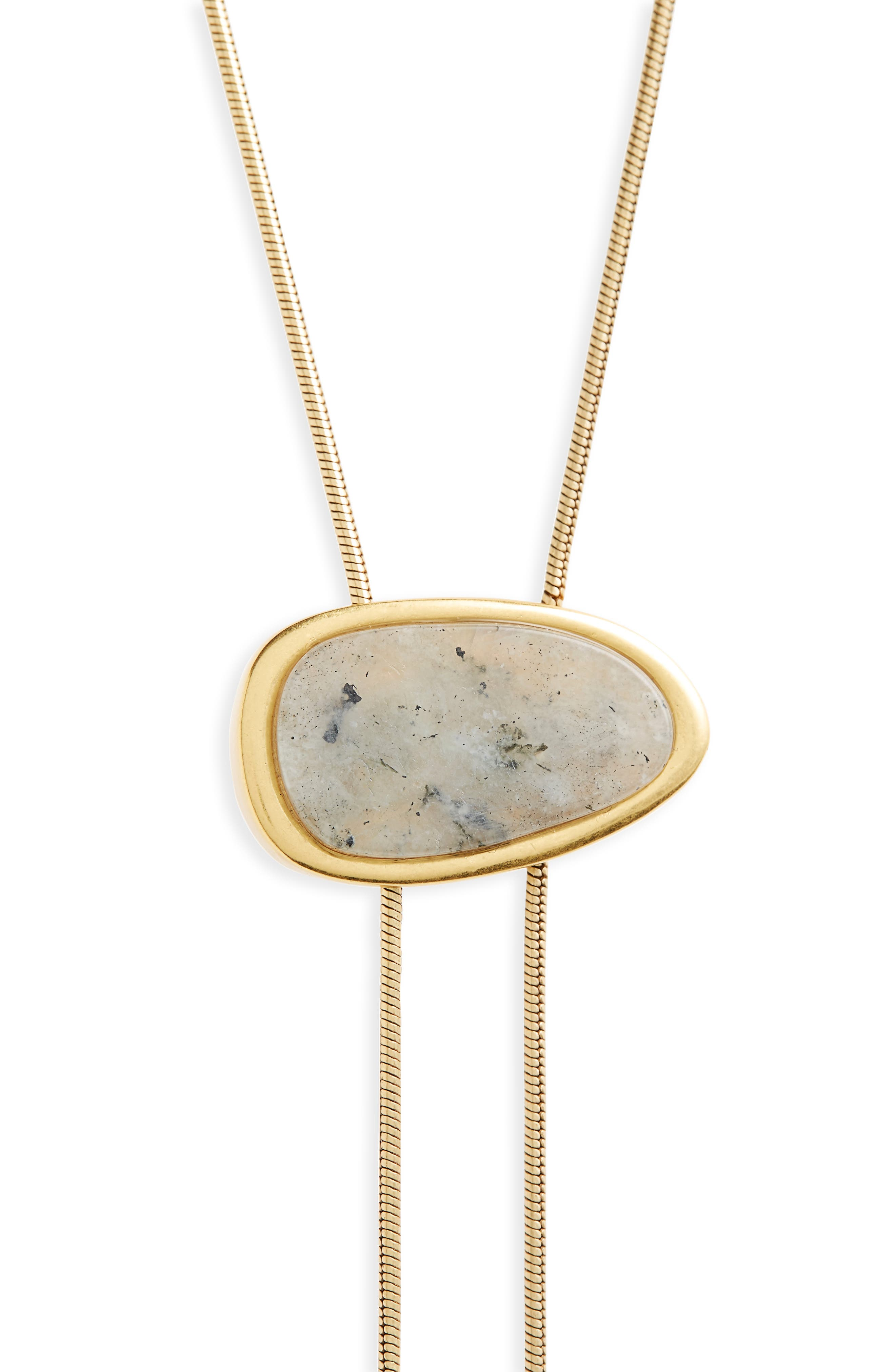 Alternate Image 2  - Madewell Bolo Necklace