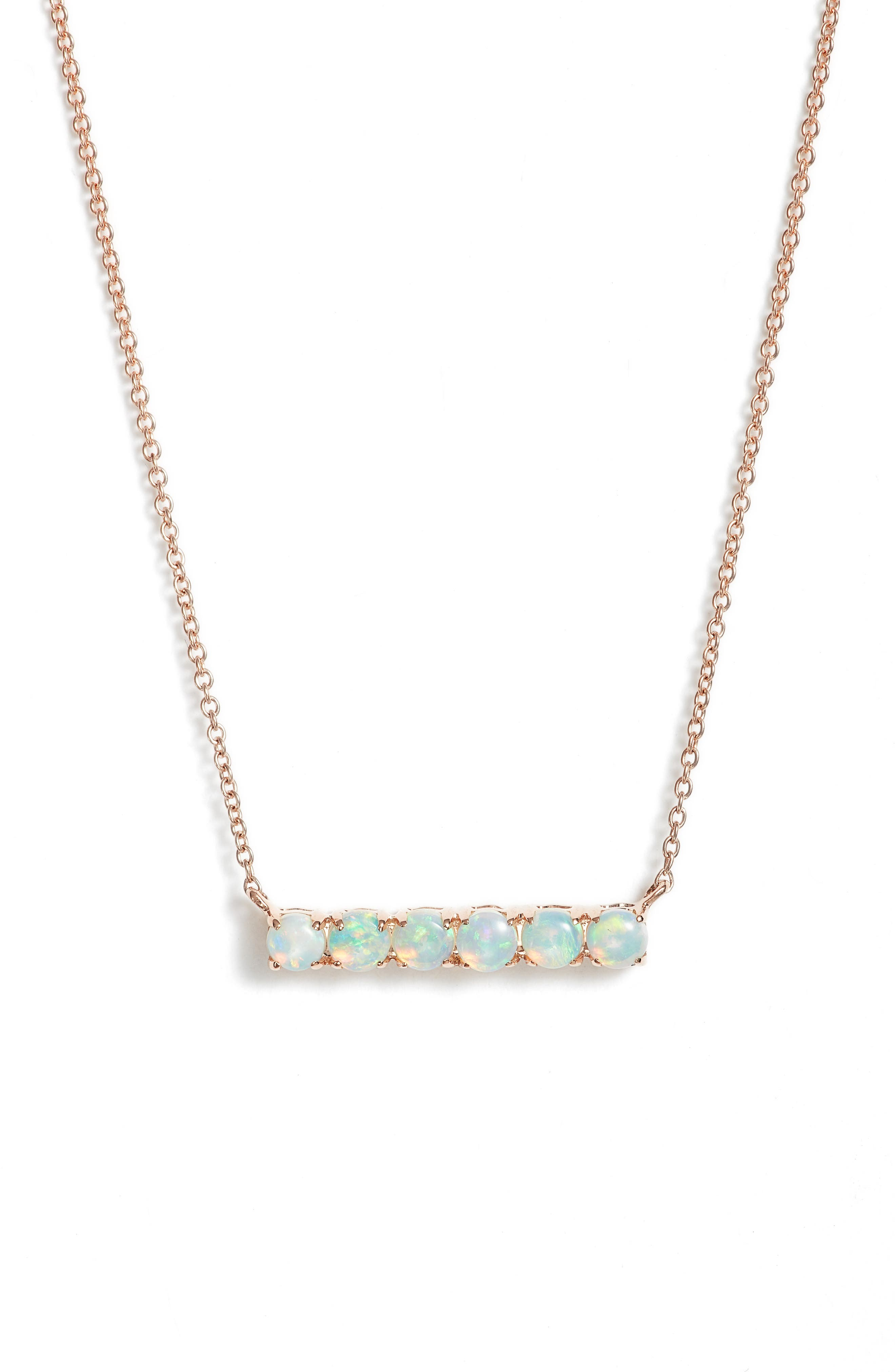 Dana Rebecca Designs Bar Pendant Necklace