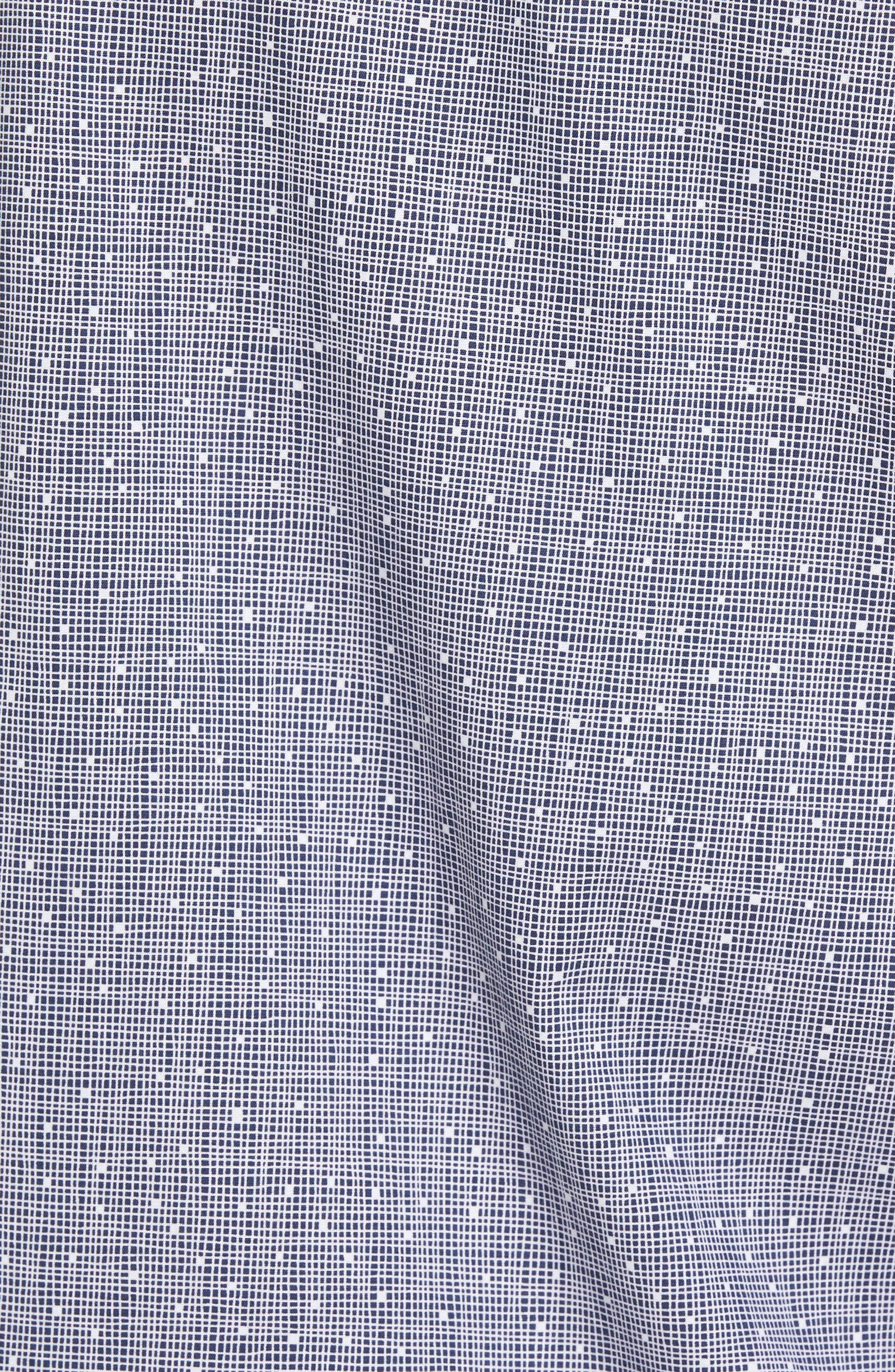 Alternate Image 5  - Calibrate Slim Fit No-Iron Print Sport Shirt