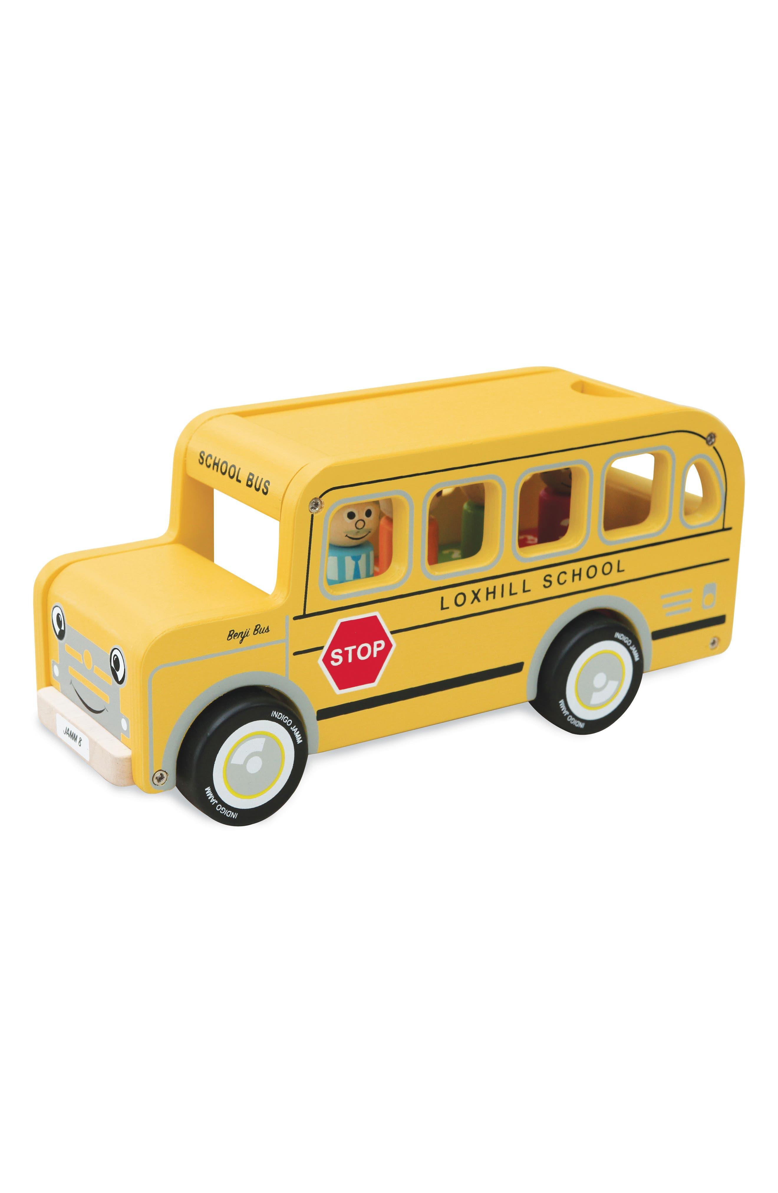 Benji School Bus,                         Main,                         color, Yellow