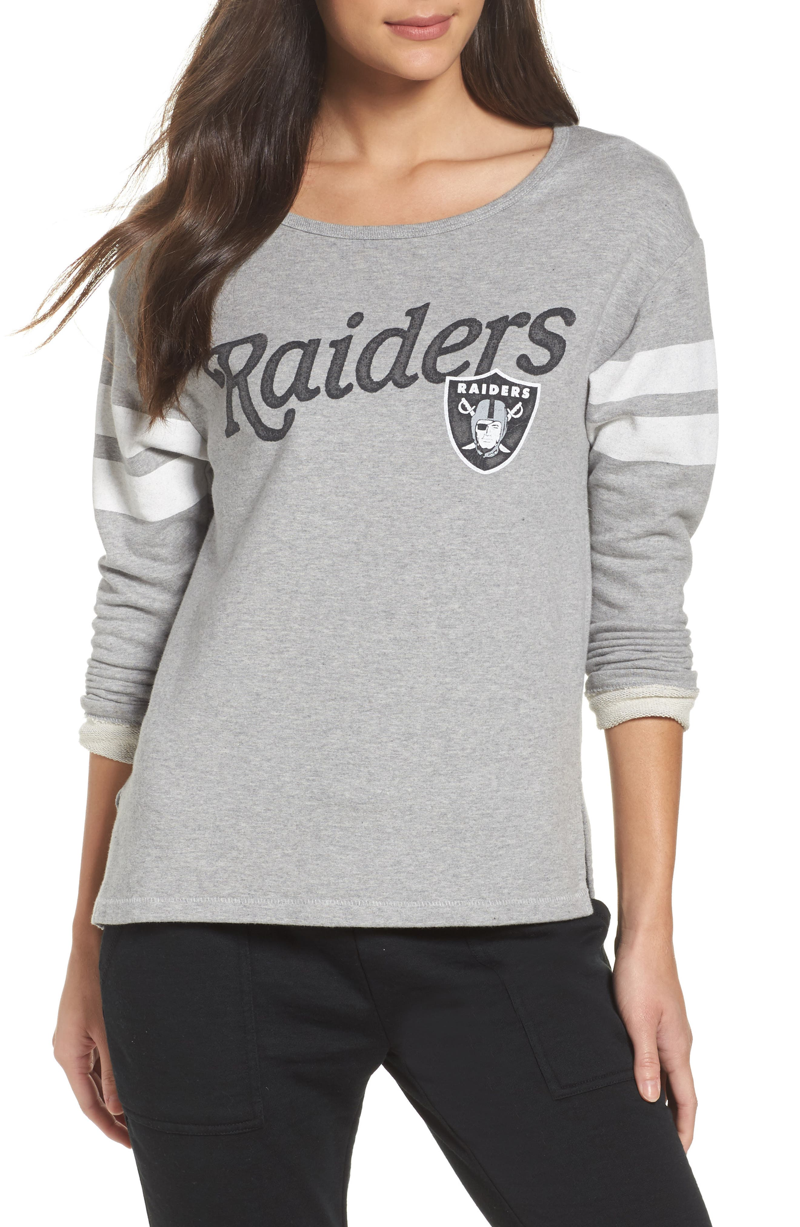 Junk Food NFL Oakland Raiders Champion Sweatshirt