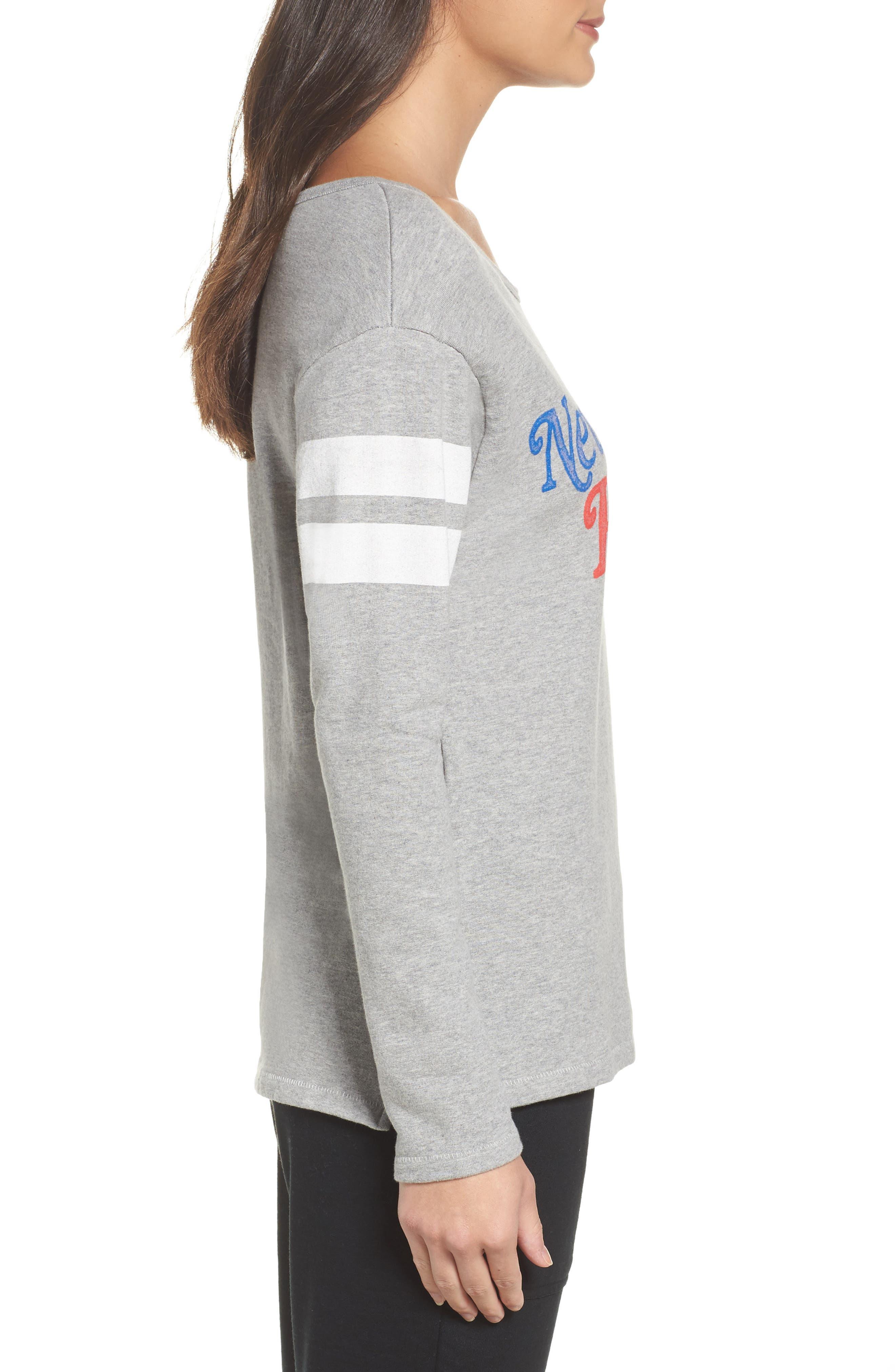 NFL New England Patriots Champion Sweatshirt,                             Alternate thumbnail 3, color,                             Heather Grey