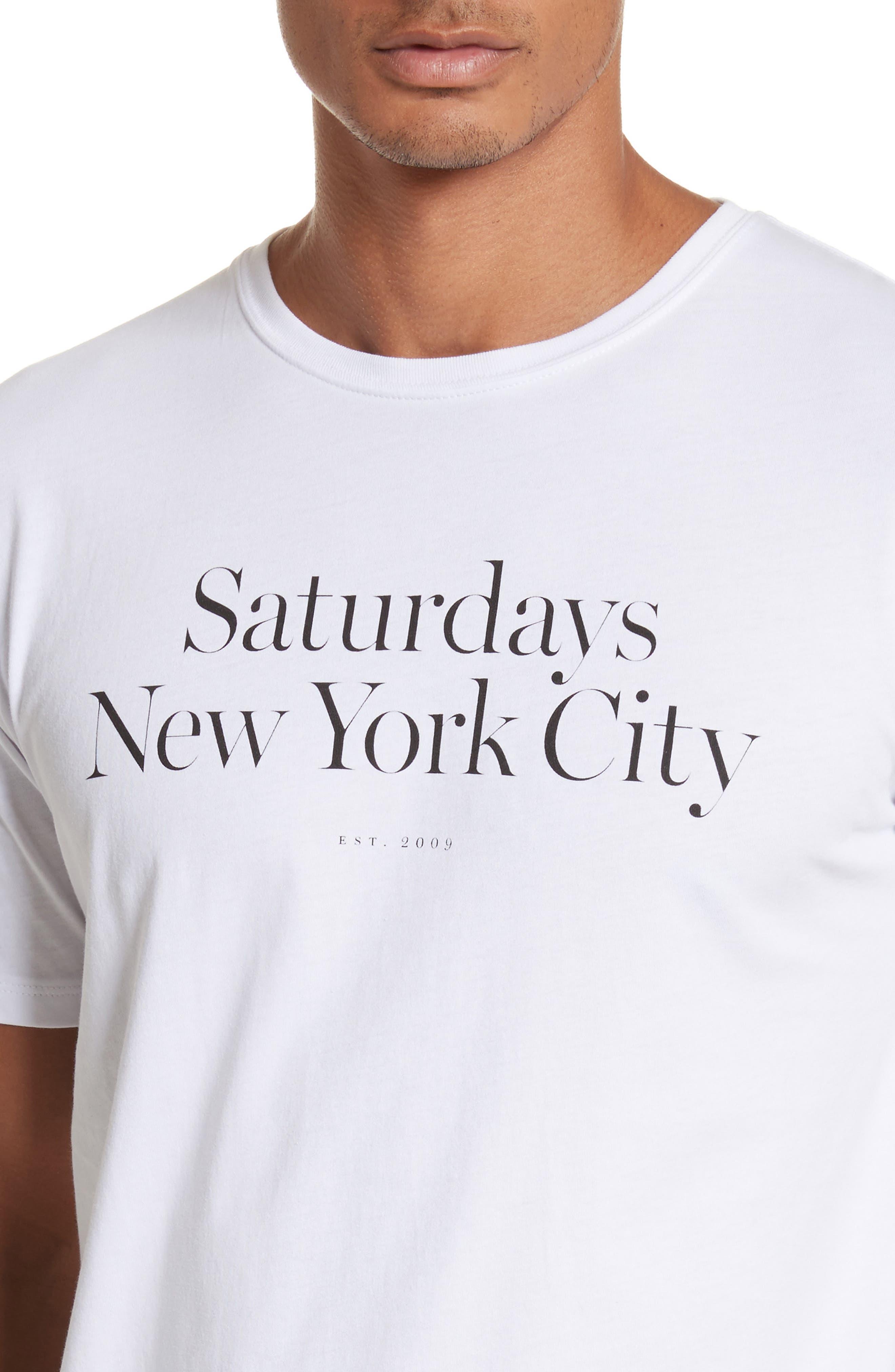 Alternate Image 4  - Saturdays NYC Miller Graphic T-Shirt