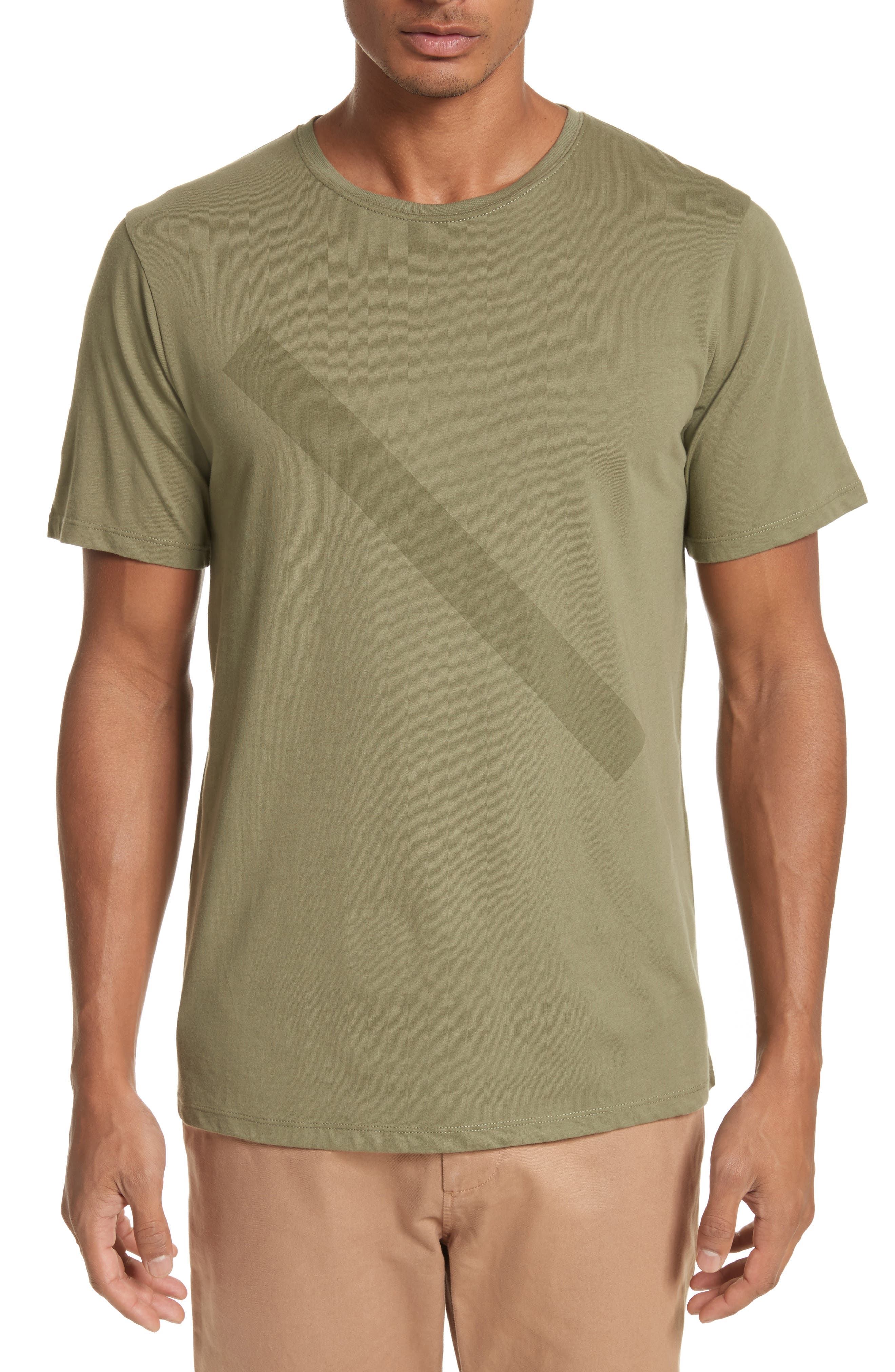 Saturdays NYC Tonal Slash Graphic T-Shirt