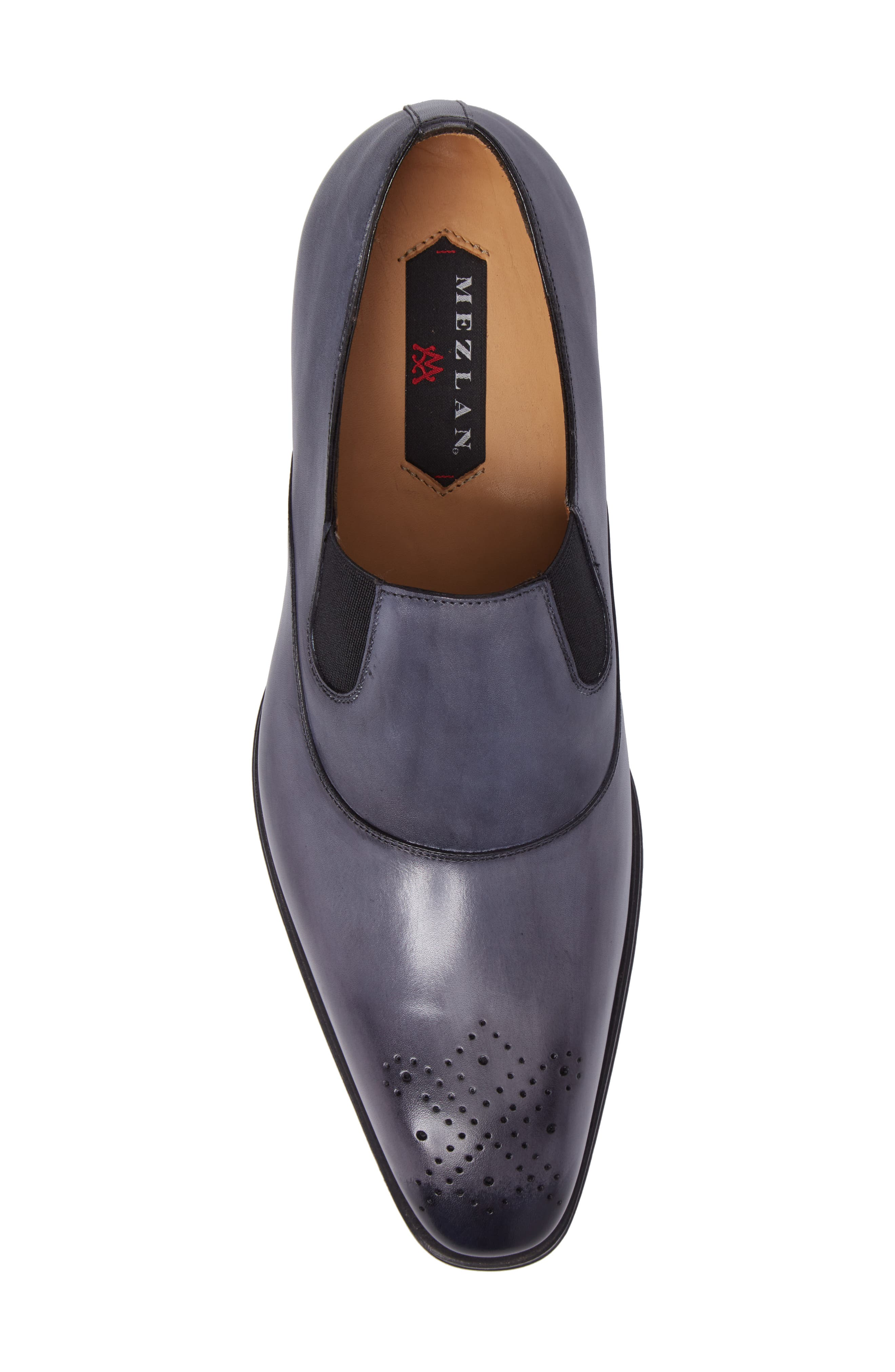 Posadas Venetian Loafer,                             Alternate thumbnail 5, color,                             Grey Leather