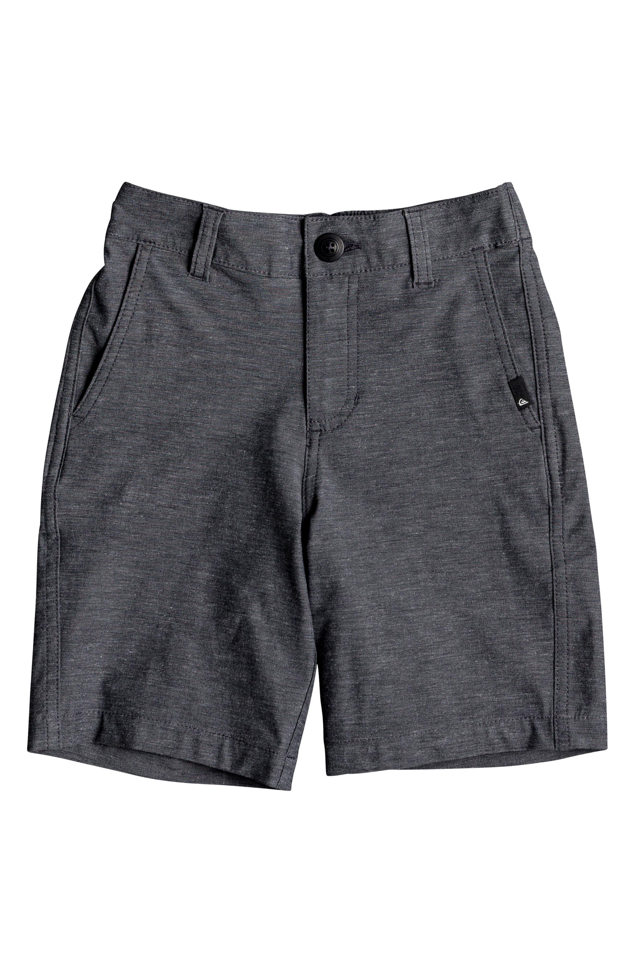 Main Image - Quiksilver Union Heather Amphibian Board Shorts (Toddler Boys & Little Boys)