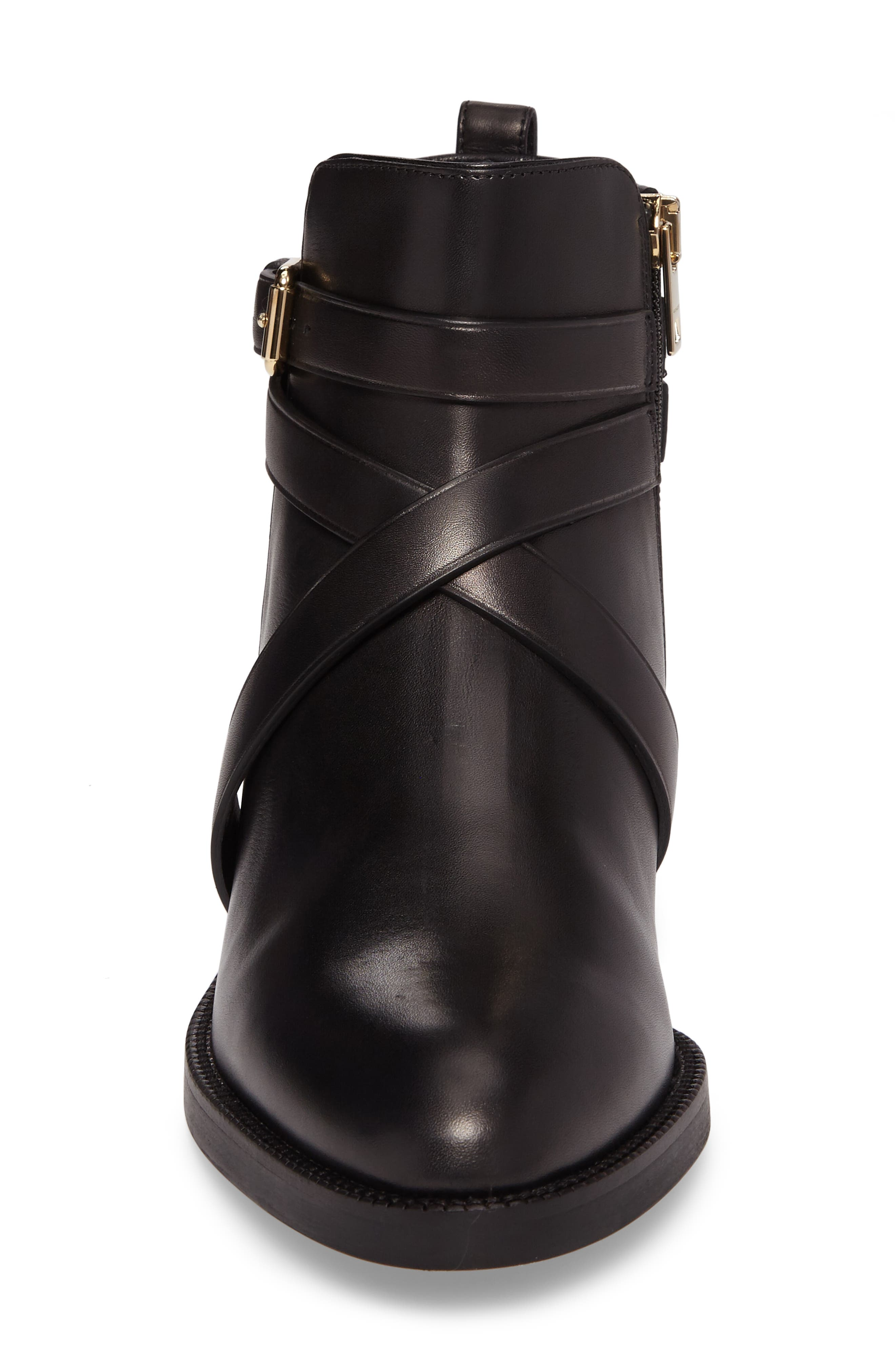 Ankle Boot,                             Alternate thumbnail 4, color,                             Black