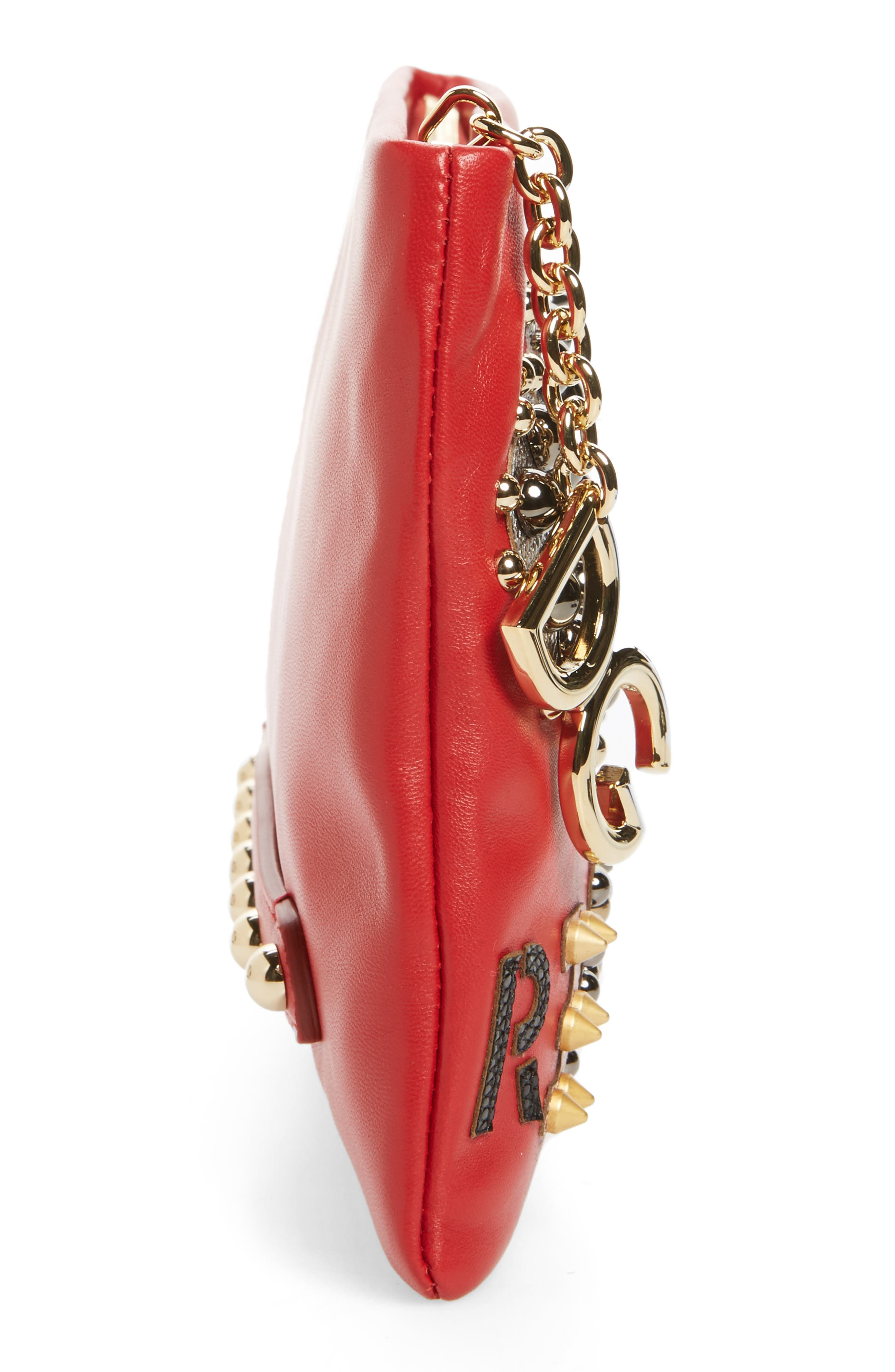 Alternate Image 4  - Dolce&Gabbana Medium Cleo Revolution Clutch