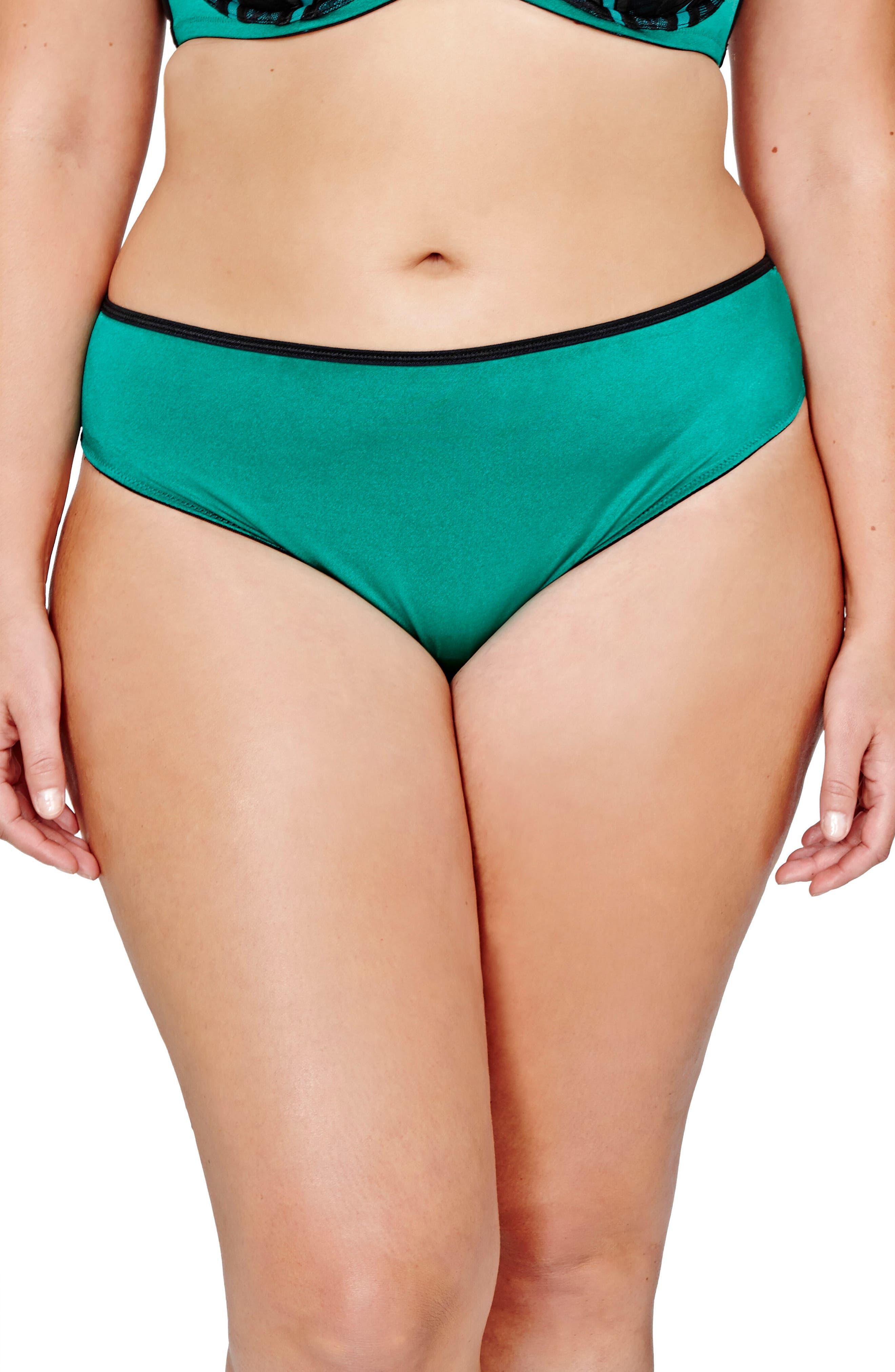 Main Image - Ashley Graham Lace Back Bikini (Plus Size)