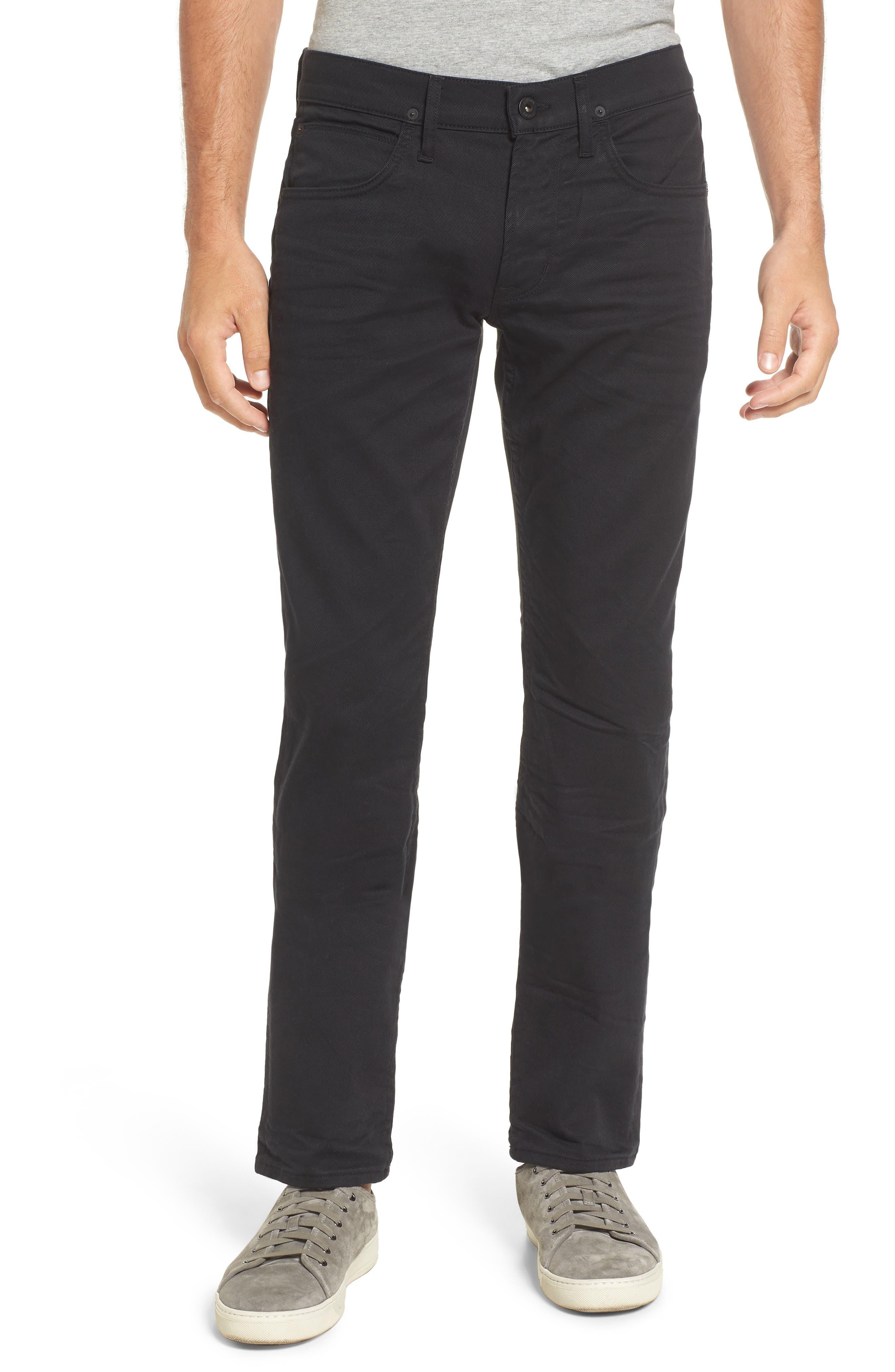 Hudson Jeans Blake Slim Fit (Black Light)