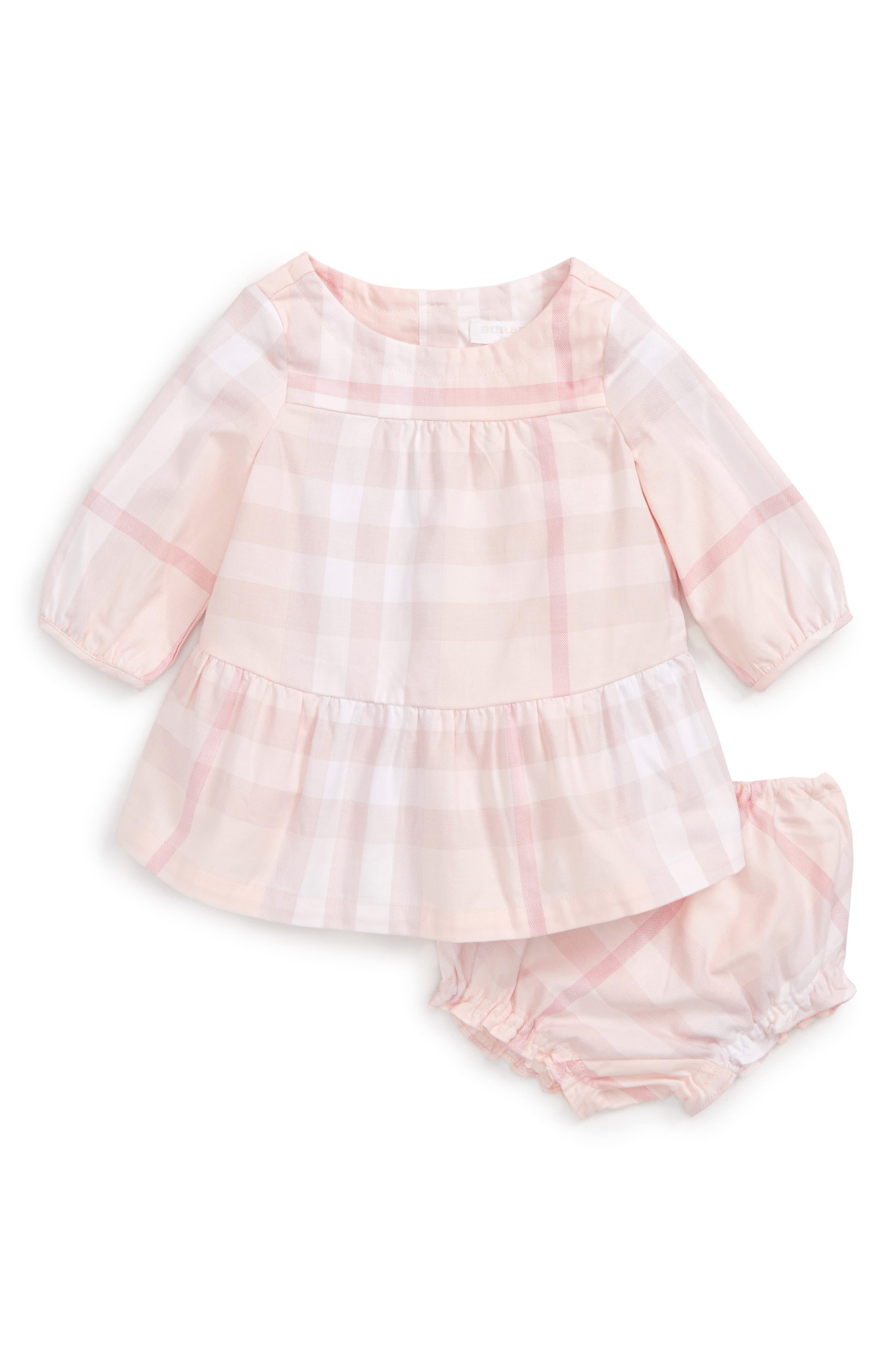 Kloey Dress,                         Main,                         color, Ice Pink