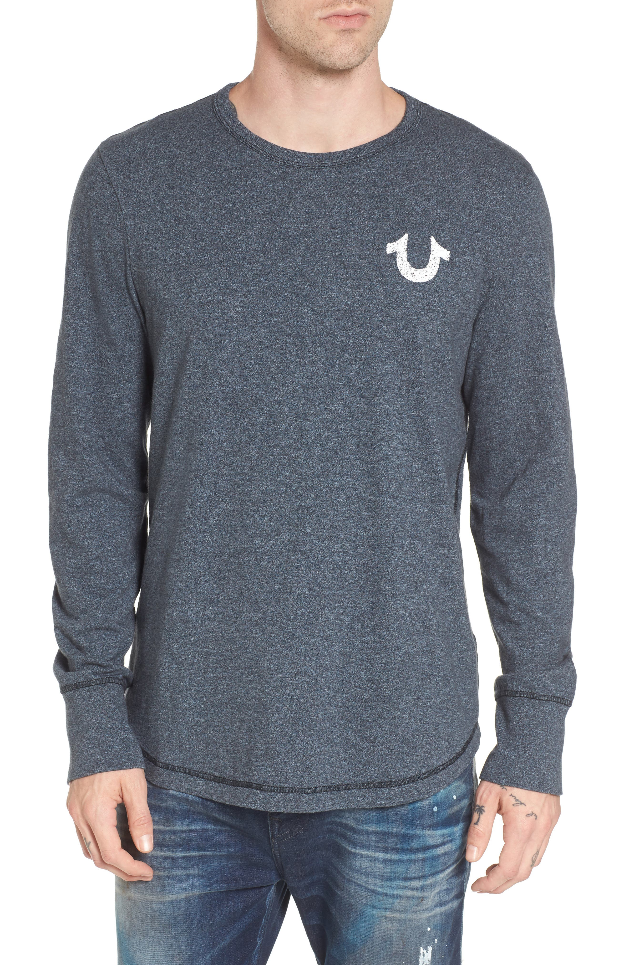 True Religion Brand Jeans Logo Graphic T-Shirt