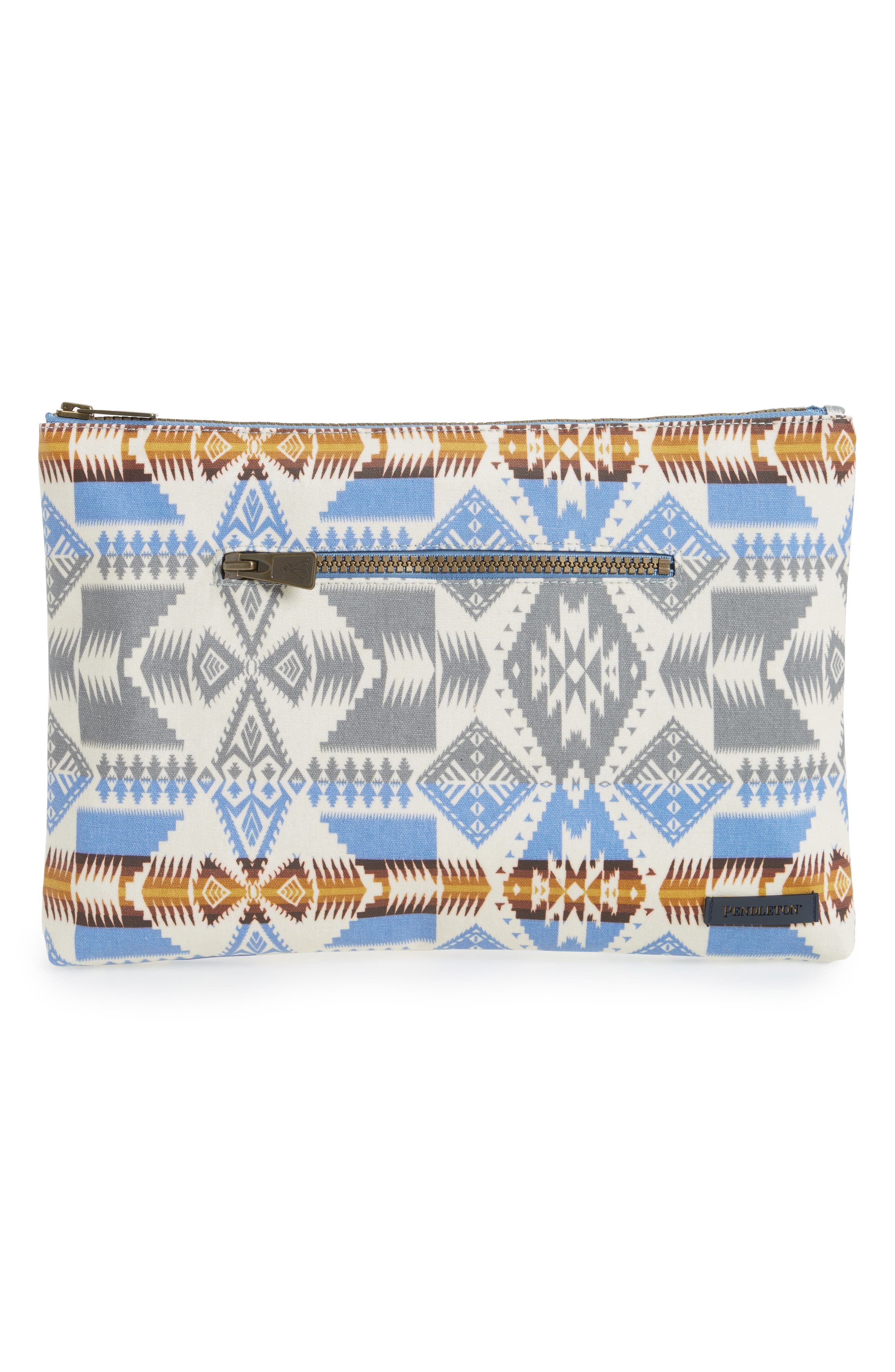 Pendleton Canopy Canvas Zip Pouch