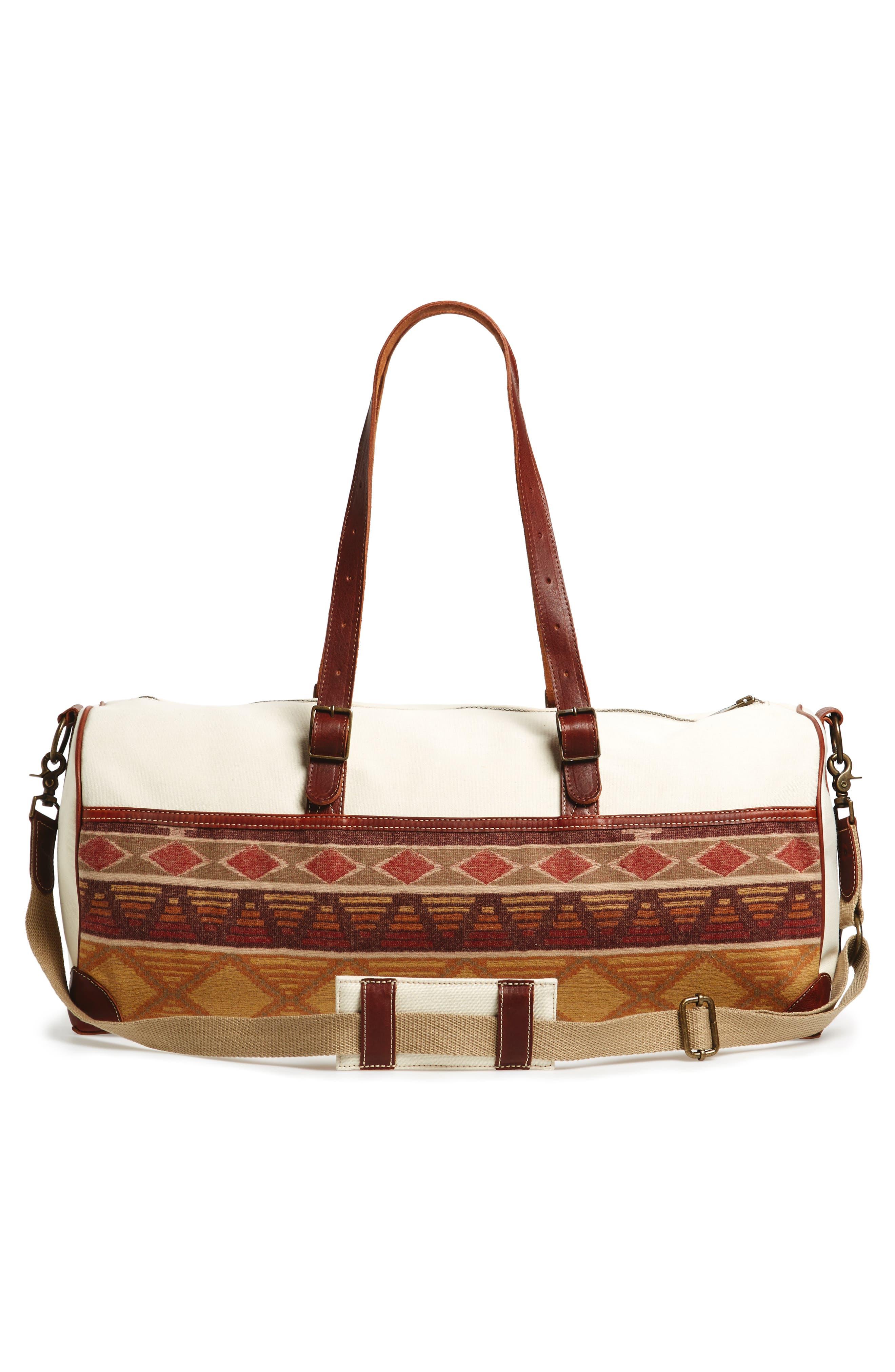 Voyager Duffel Bag,                             Alternate thumbnail 3, color,                             Cedar Mountain