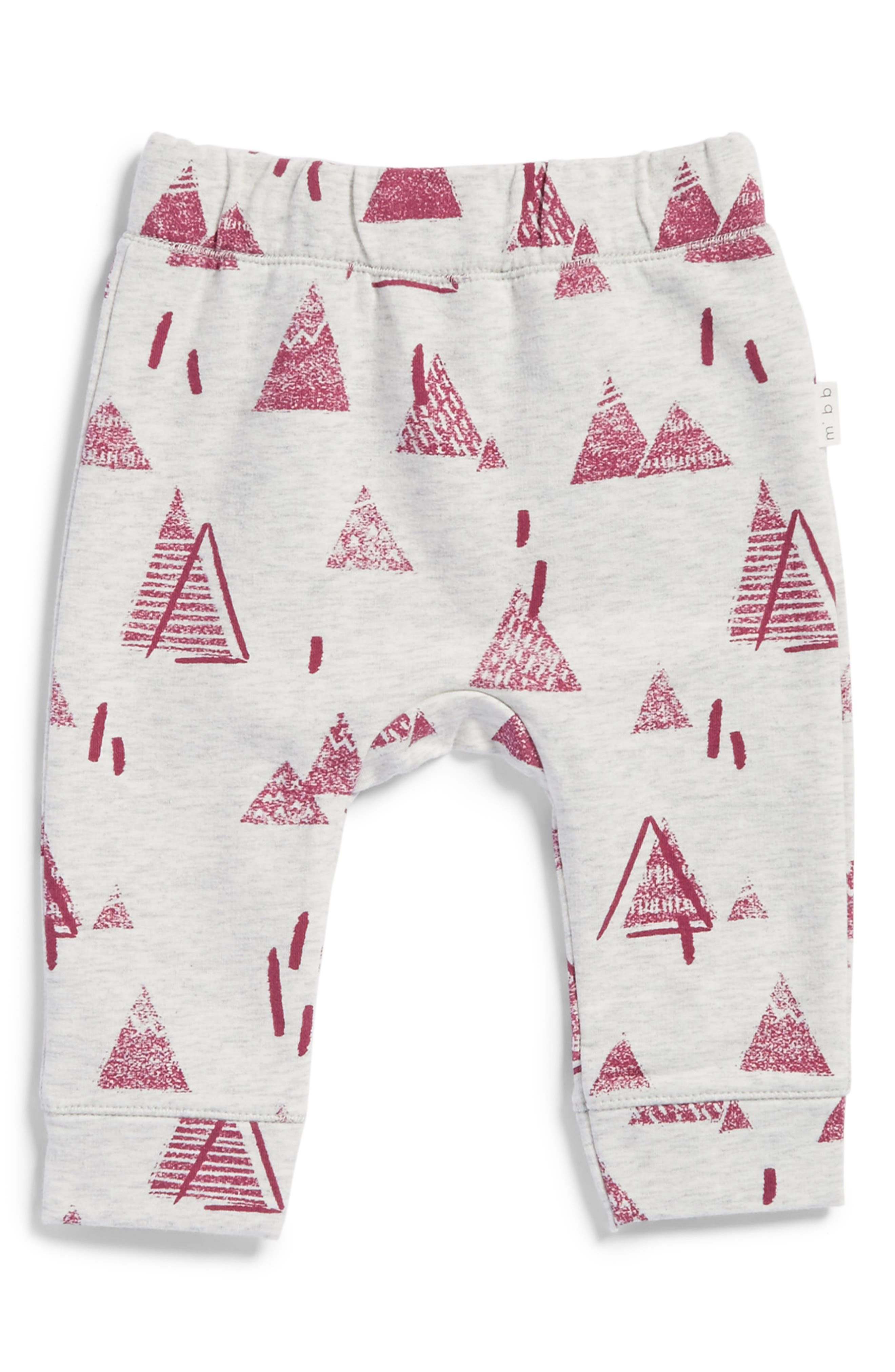 Main Image - Miles Baby Knit Pants (Baby Girls)