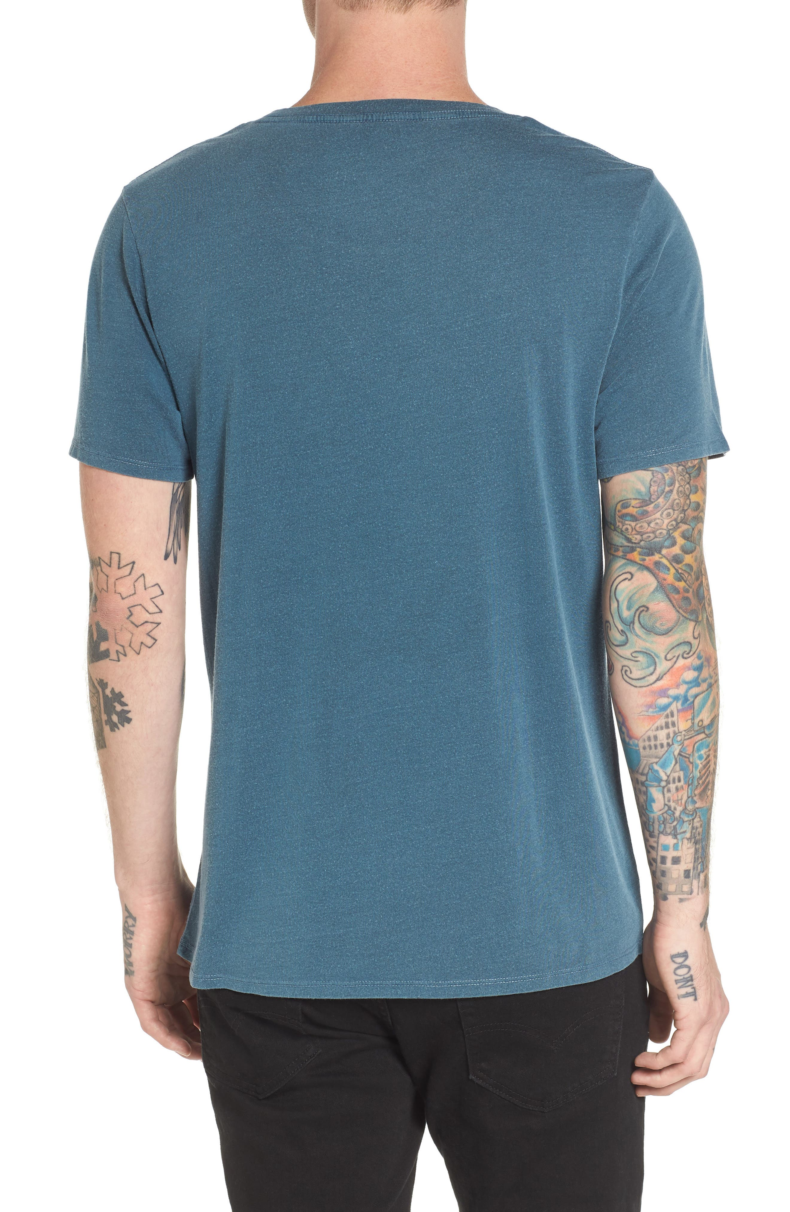 Alternate Image 2  - The Rail Slim Fit Scoop Neck T-Shirt