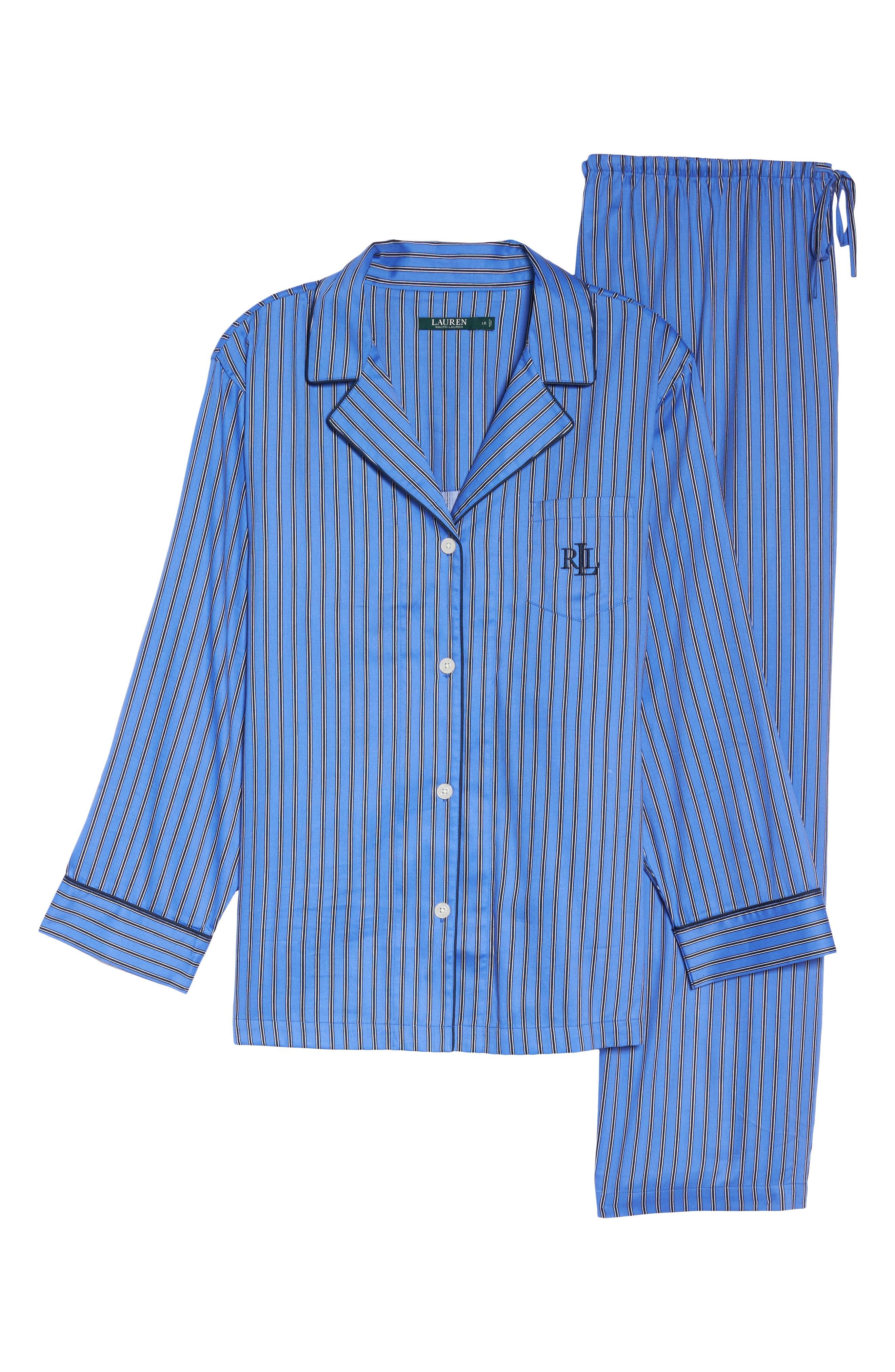 Alternate Image 4  - Lauren Ralph Lauren Pajamas (Plus Size)