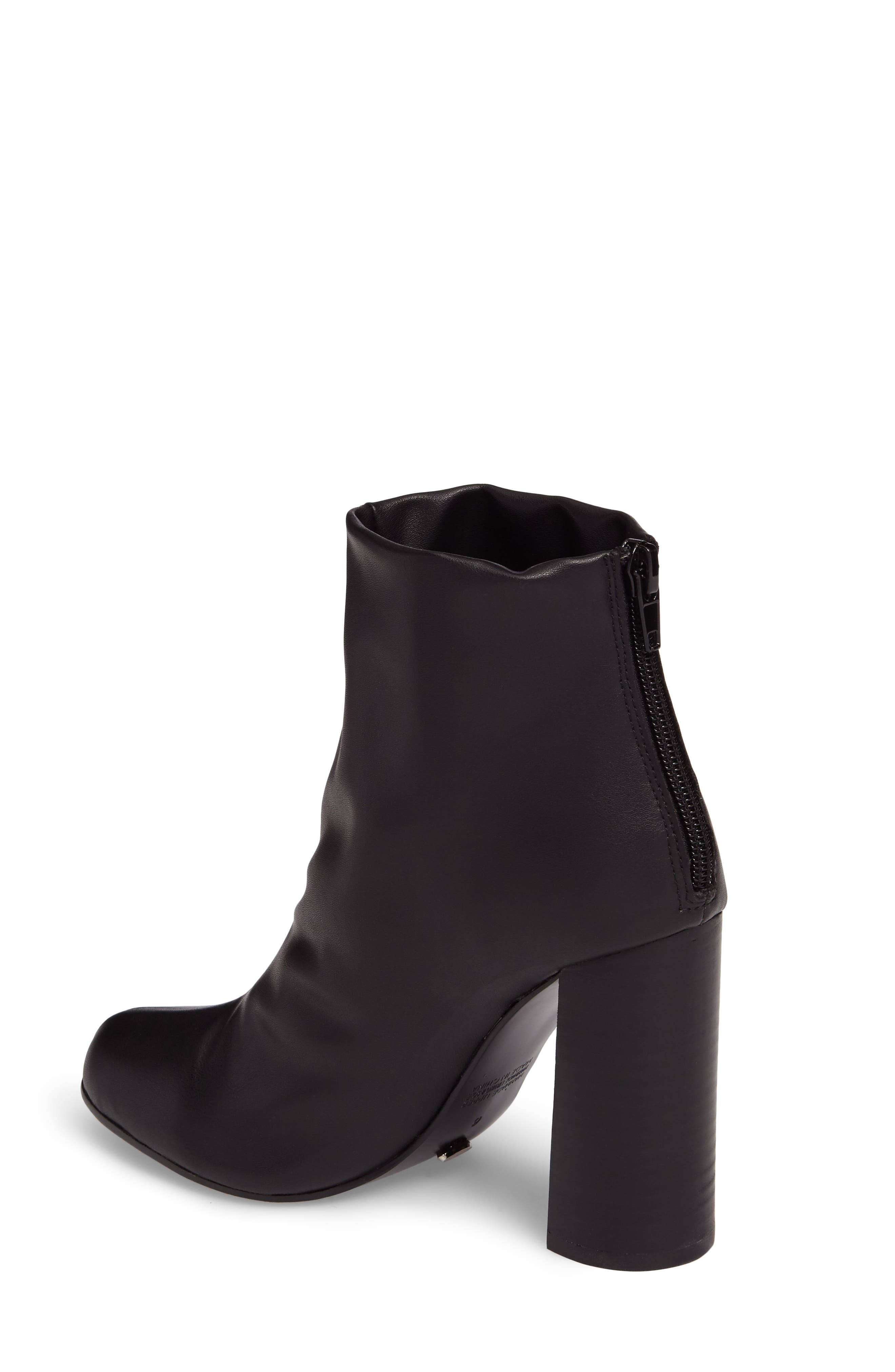 Nyx Stretch Bootie,                             Alternate thumbnail 2, color,                             Black Nappa Leather