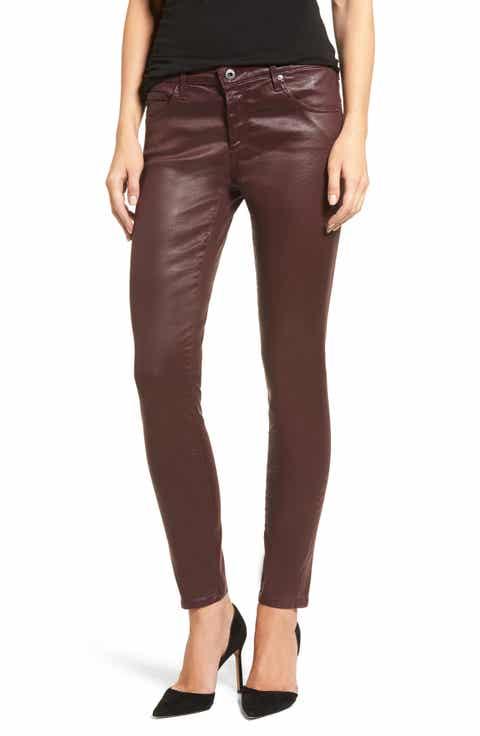 AG The Legging Ankle Jeans - Red Skinny Jeans For Women Nordstrom Nordstrom