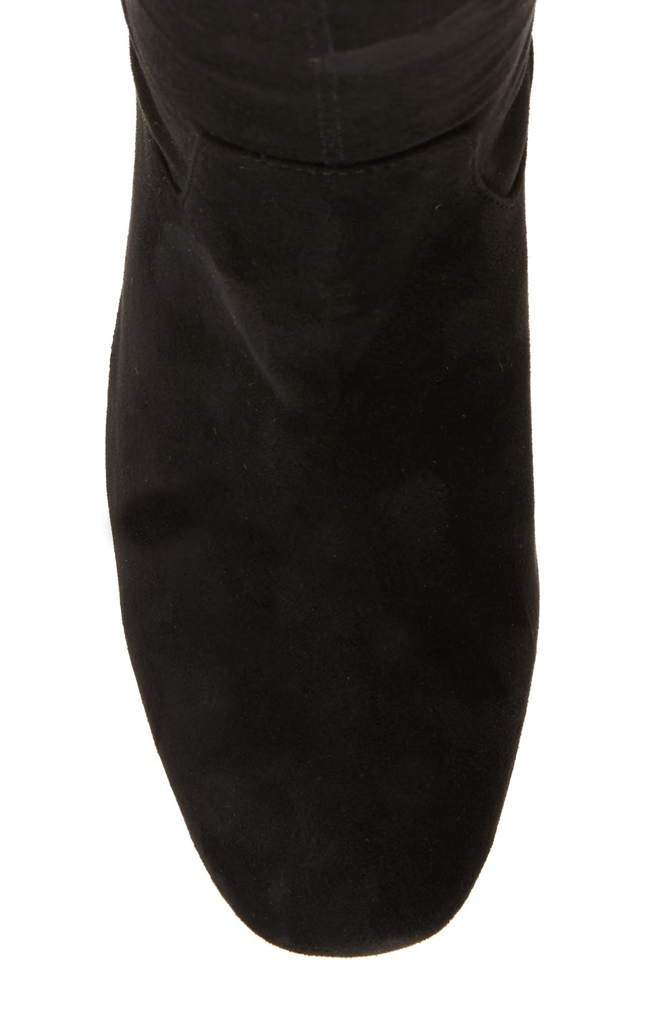 Amani Over the Knee Boot,                             Alternate thumbnail 5, color,                             Black Suede