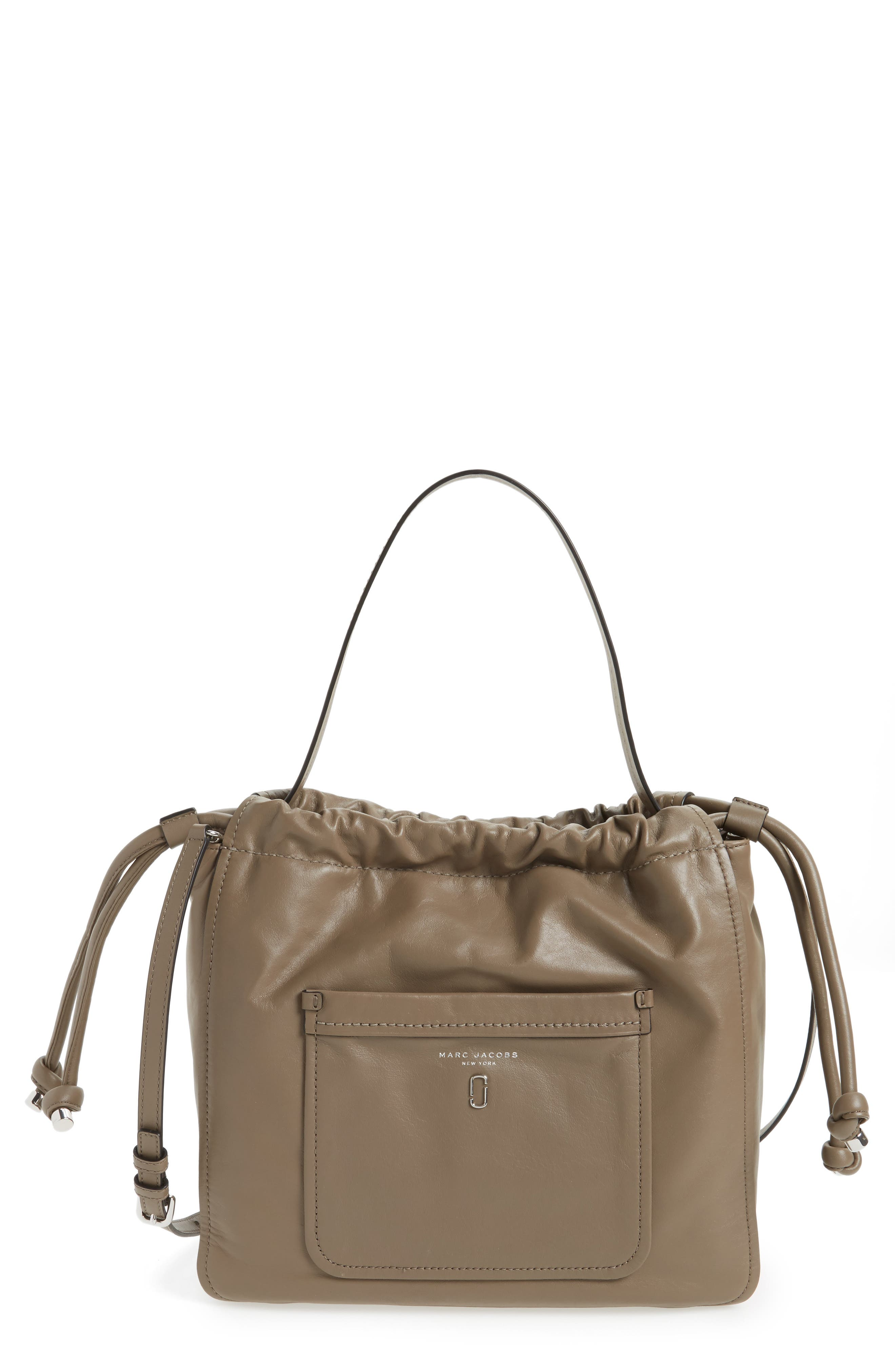 MARC JACOBS Tied Up Leather Hobo