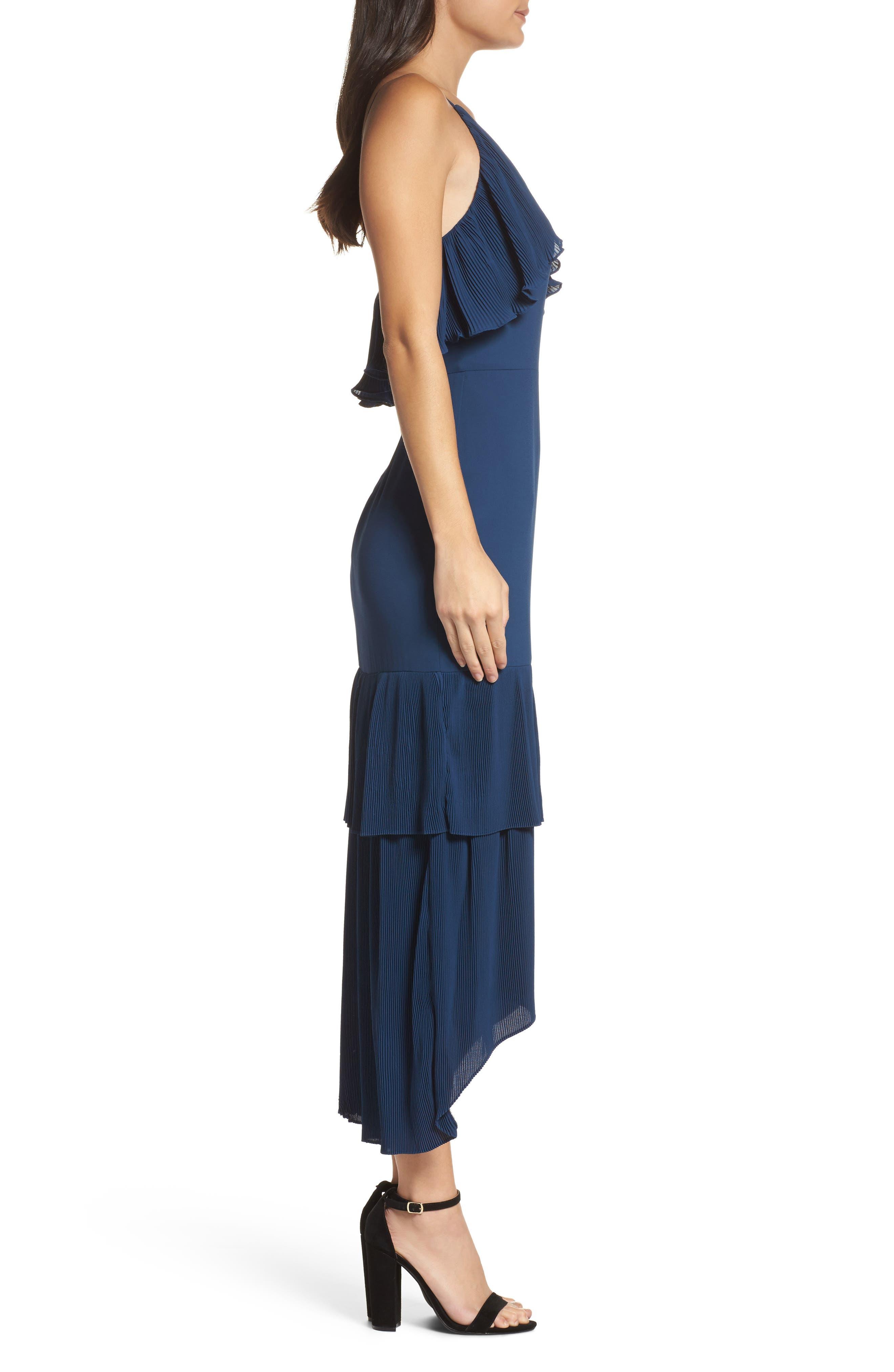 Alternate Image 3  - Cooper St Kate Pleated Ruffle Midi Dress