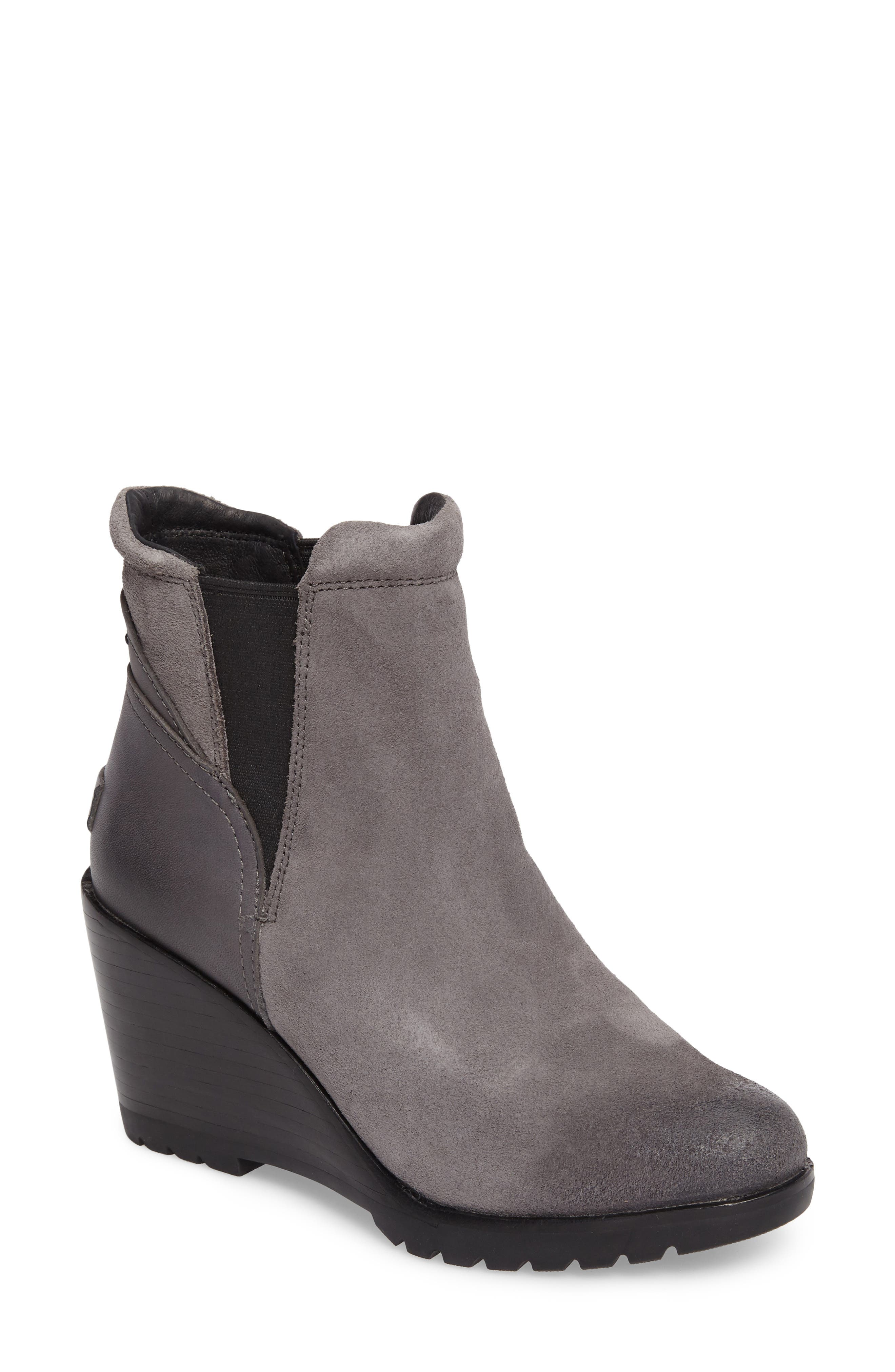 After Hours Chelsea Boot,                             Main thumbnail 1, color,                             Quarry