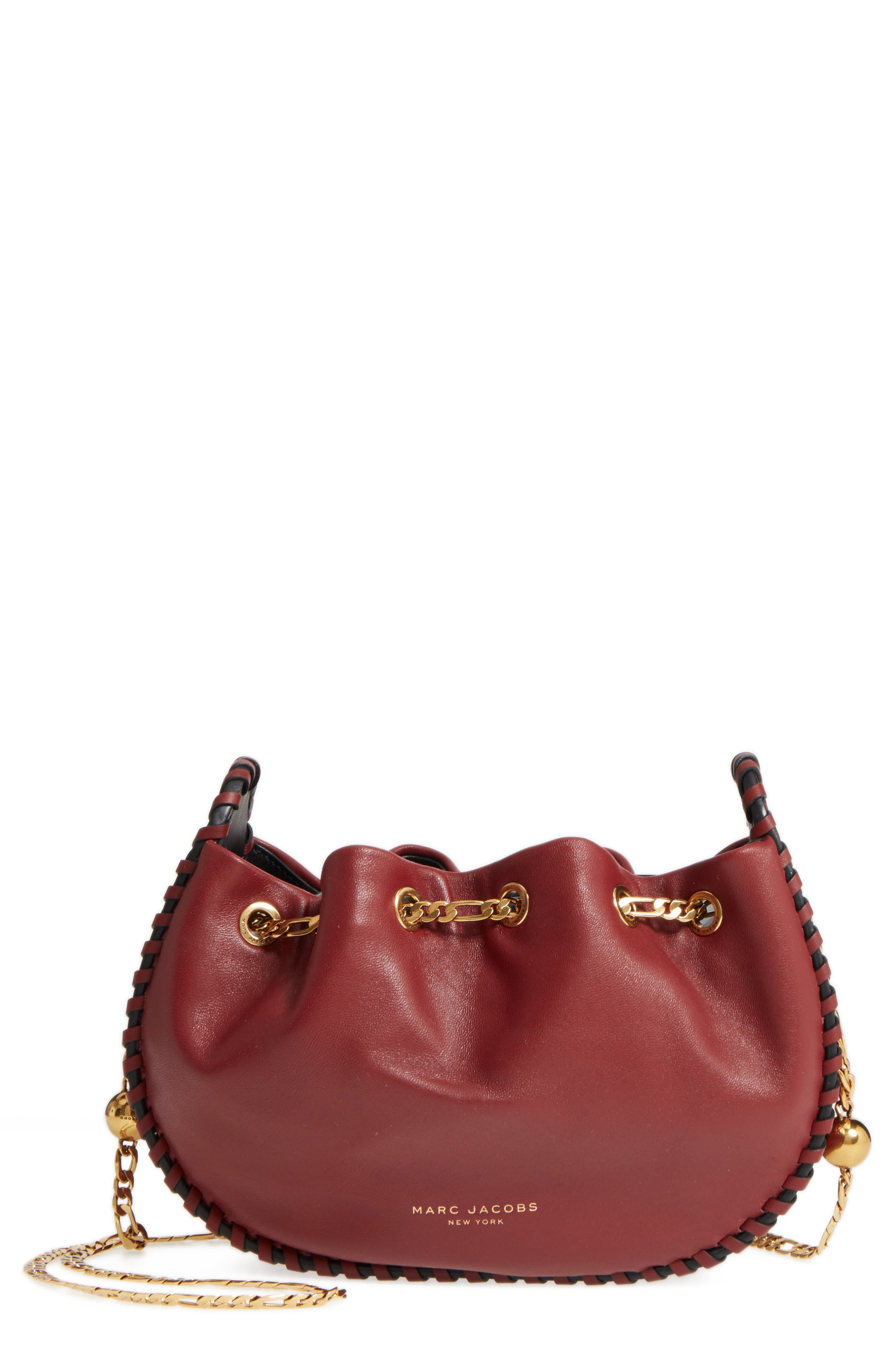 MARC JACOBS Sway Party Leather Crossbody Bag