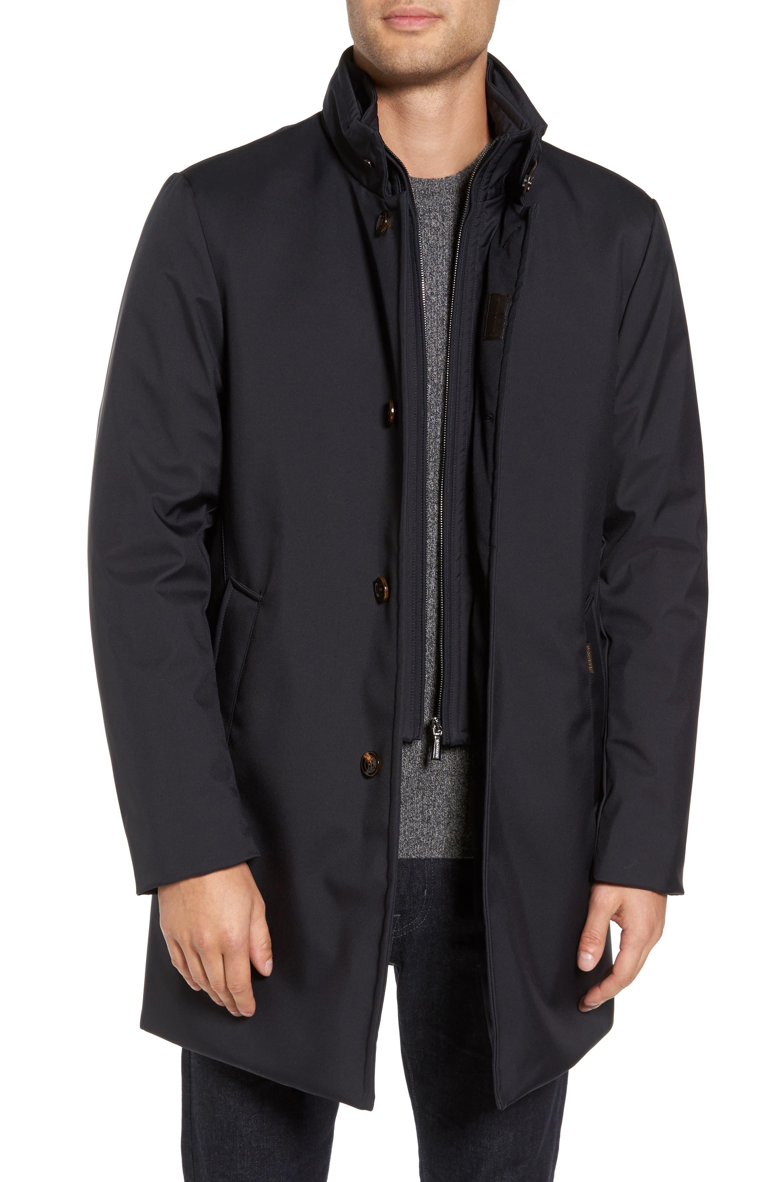 Alternate Image 1 Selected - MooRER Bond Water-Repellent Coat