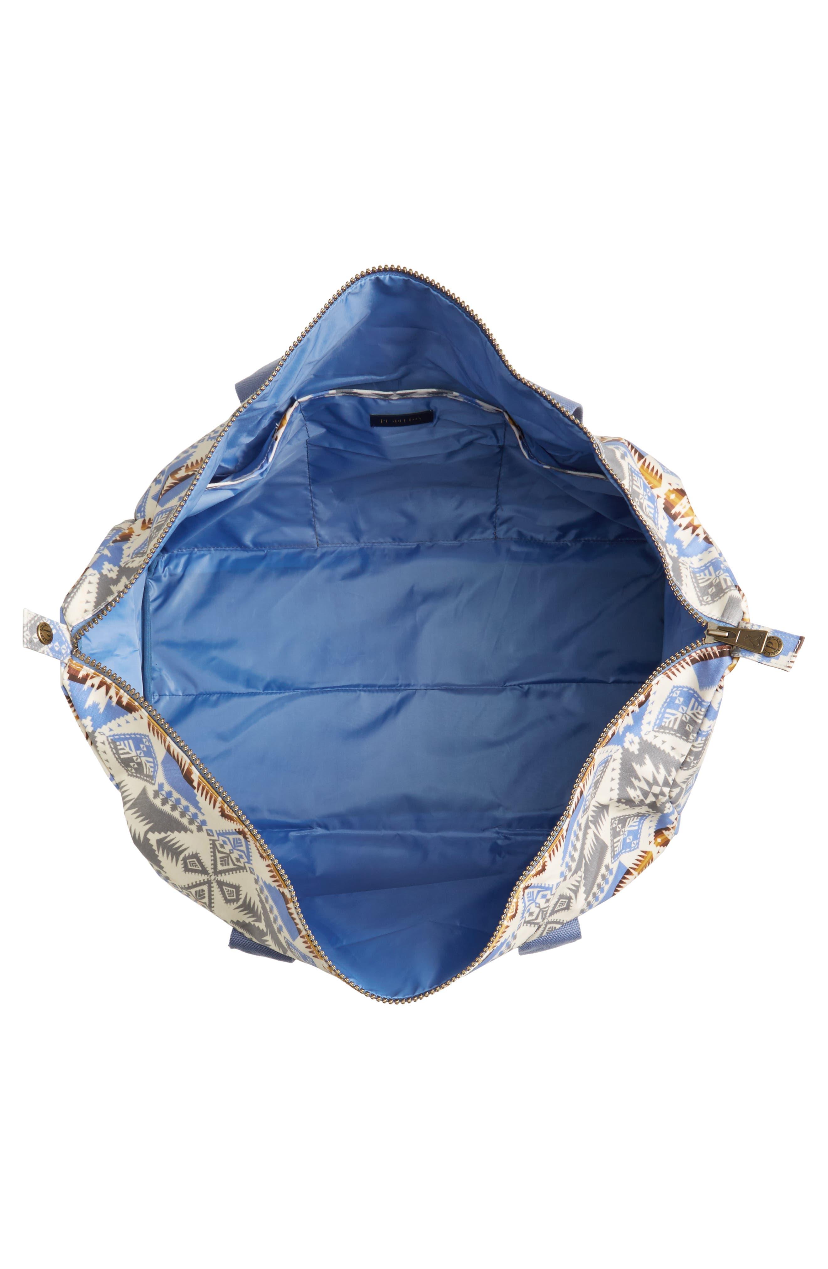 Canopy Duffel Bag,                             Alternate thumbnail 4, color,                             Silver Bark