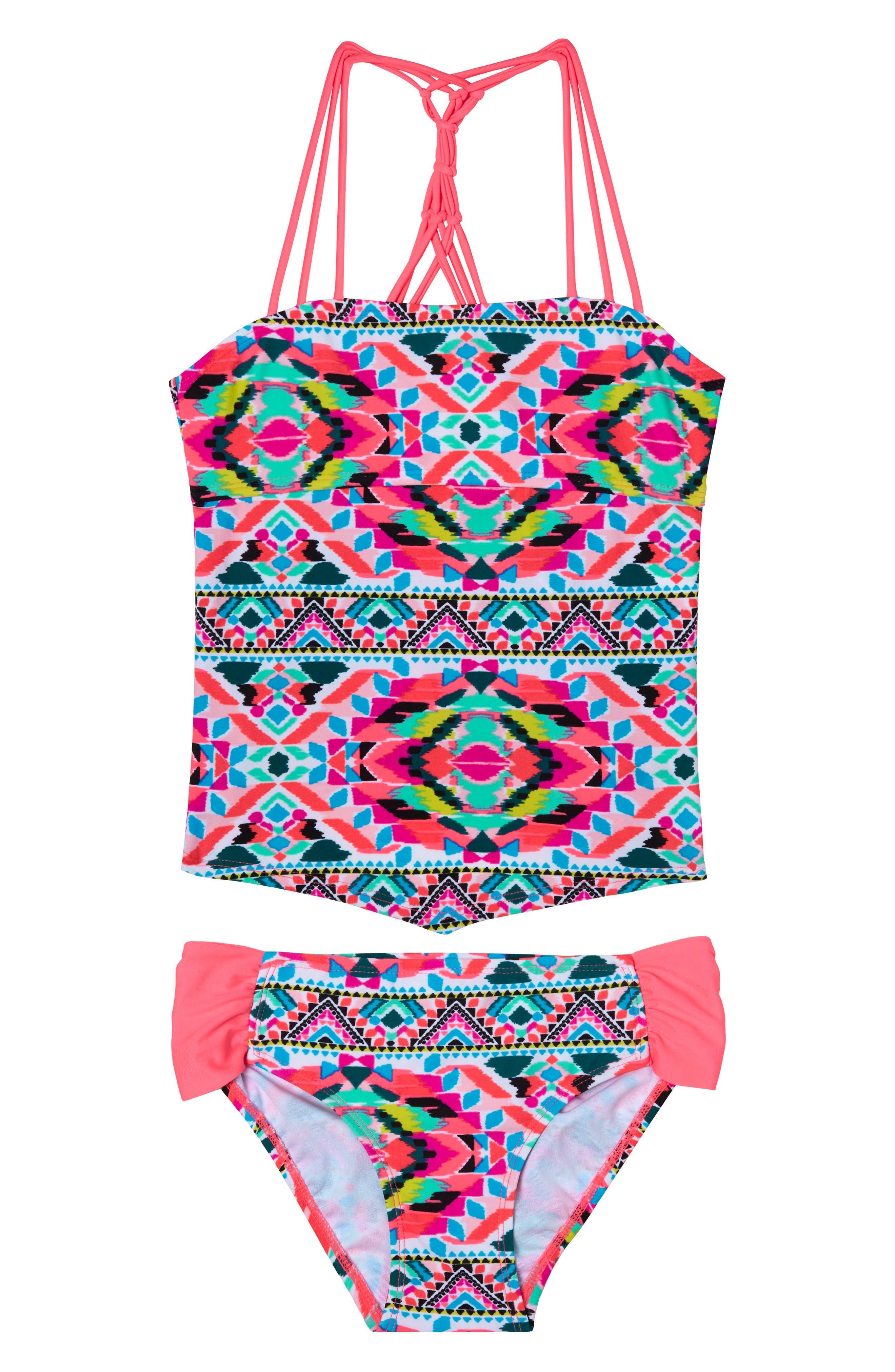 Gossip Girl Surfside Solstice Two-Piece Swimsuit (Big Girls)