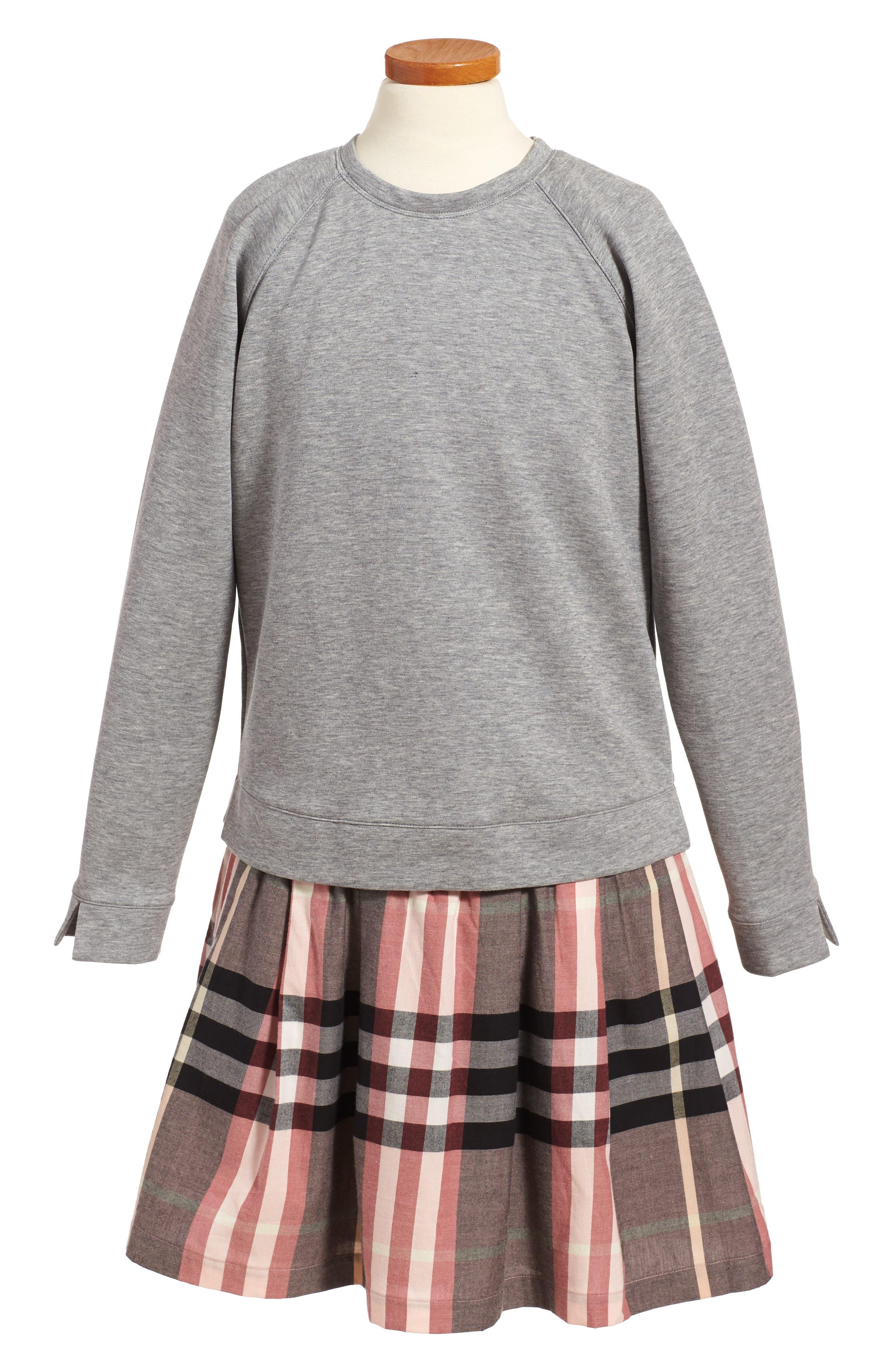 Francine Dress,                         Main,                         color, Dusty Pink