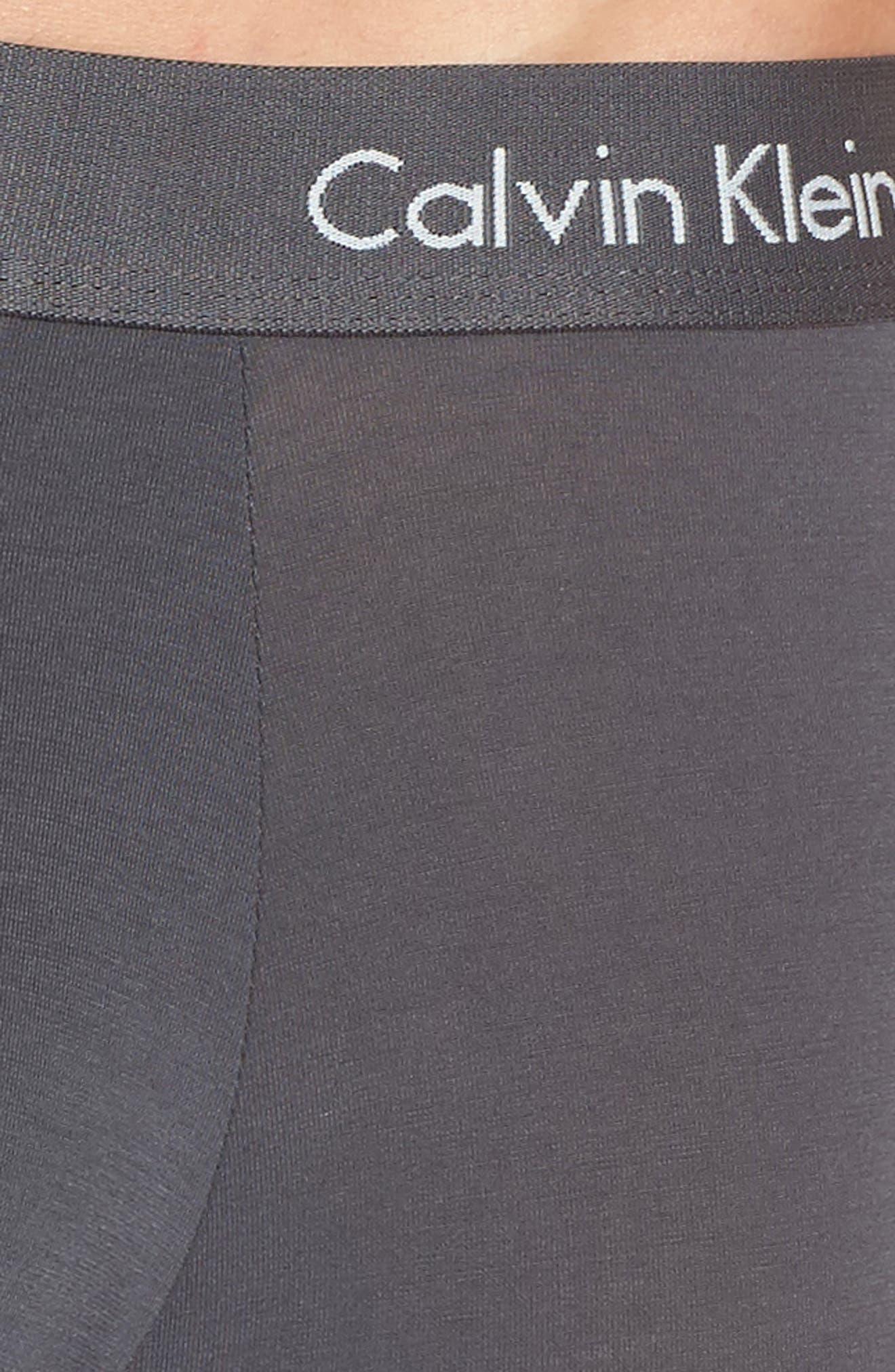 Body 3-Pack Stretch Modal Boxer Briefs,                             Alternate thumbnail 5, color,                             Blue Shadow/ Mink/ Black