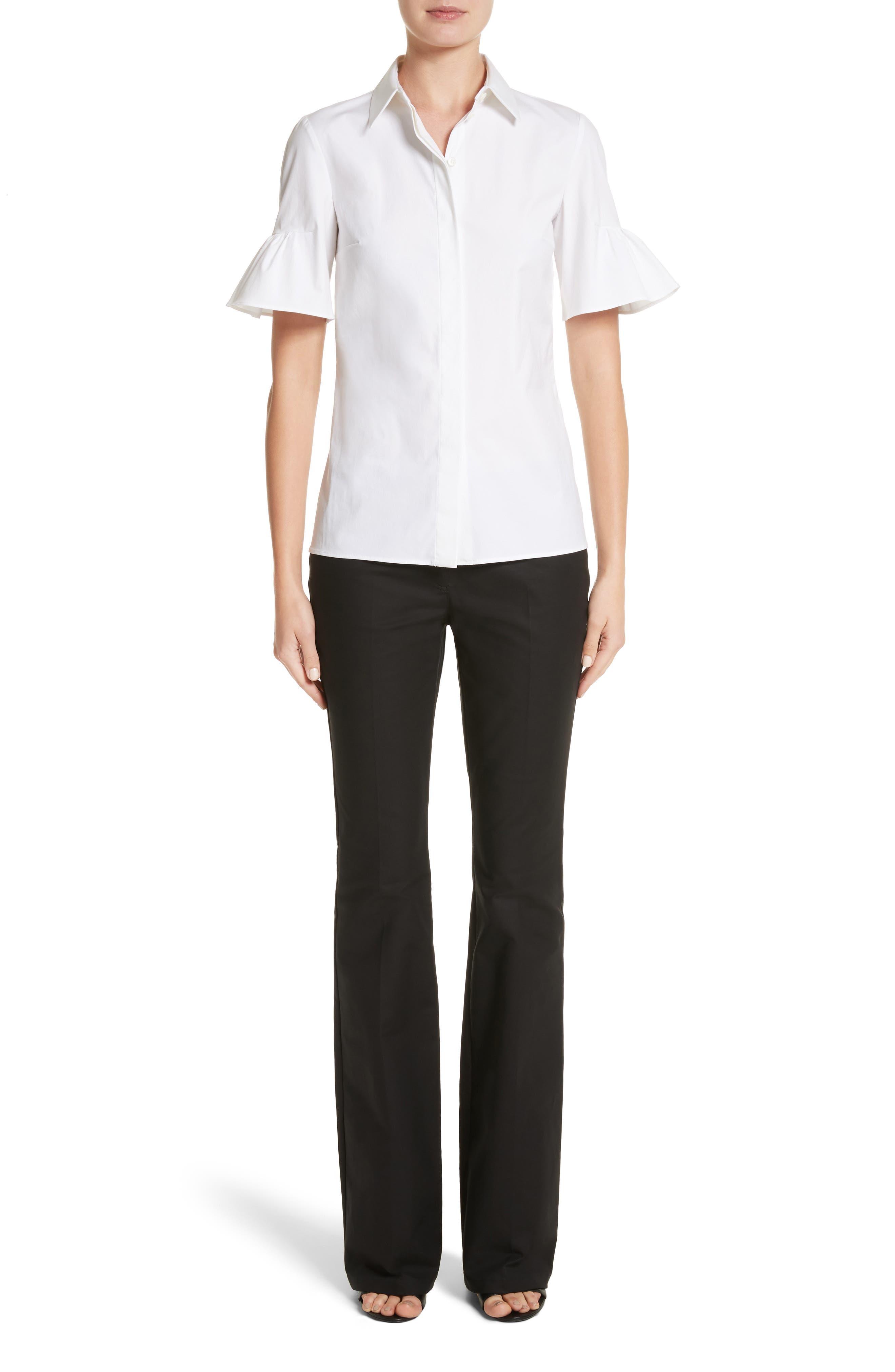 Alternate Image 7  - Michael Kors Bell Sleeve Shirt