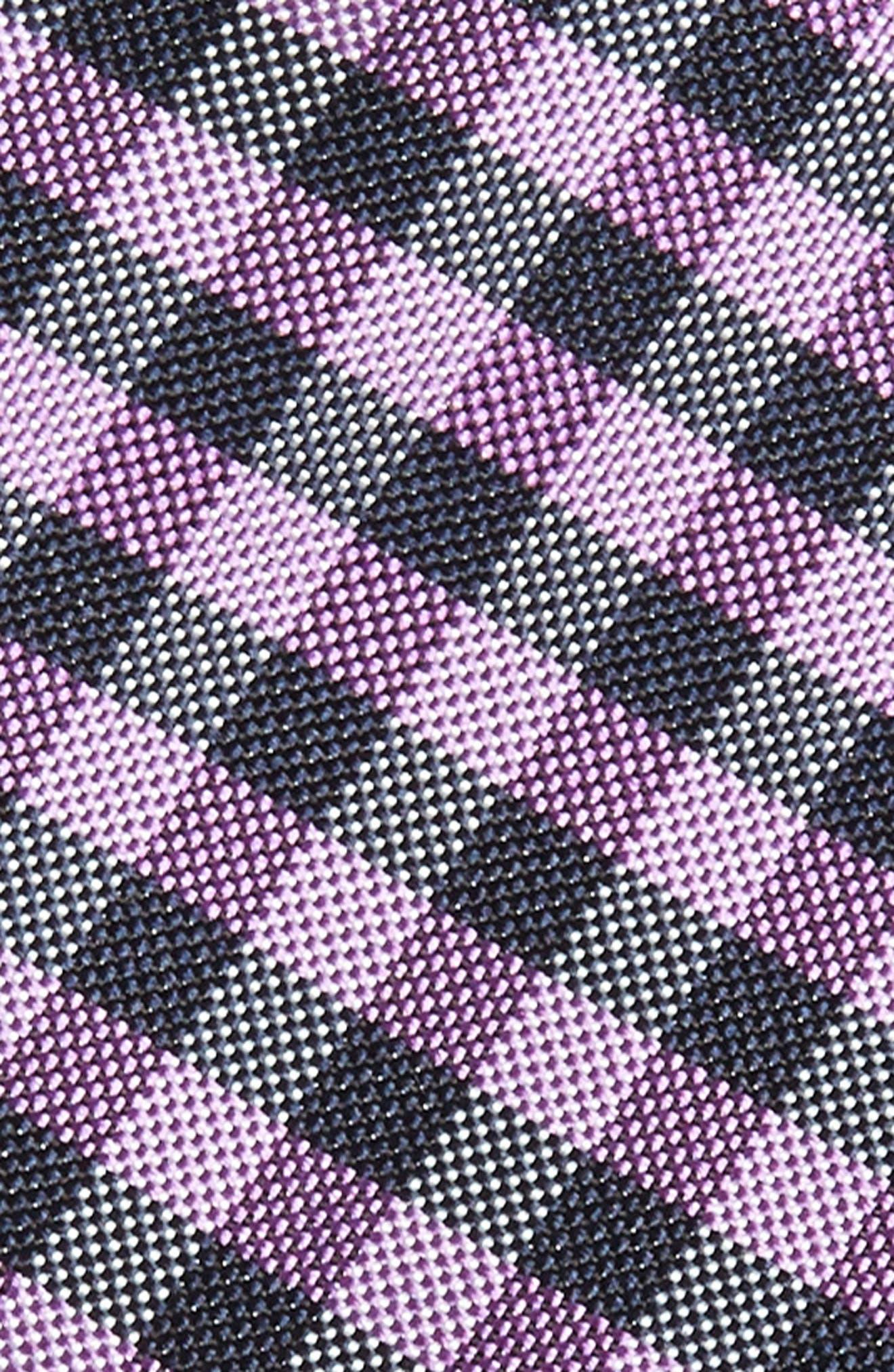 Alternate Image 2  - Nordstrom Men's Shop Java Check Silk Tie