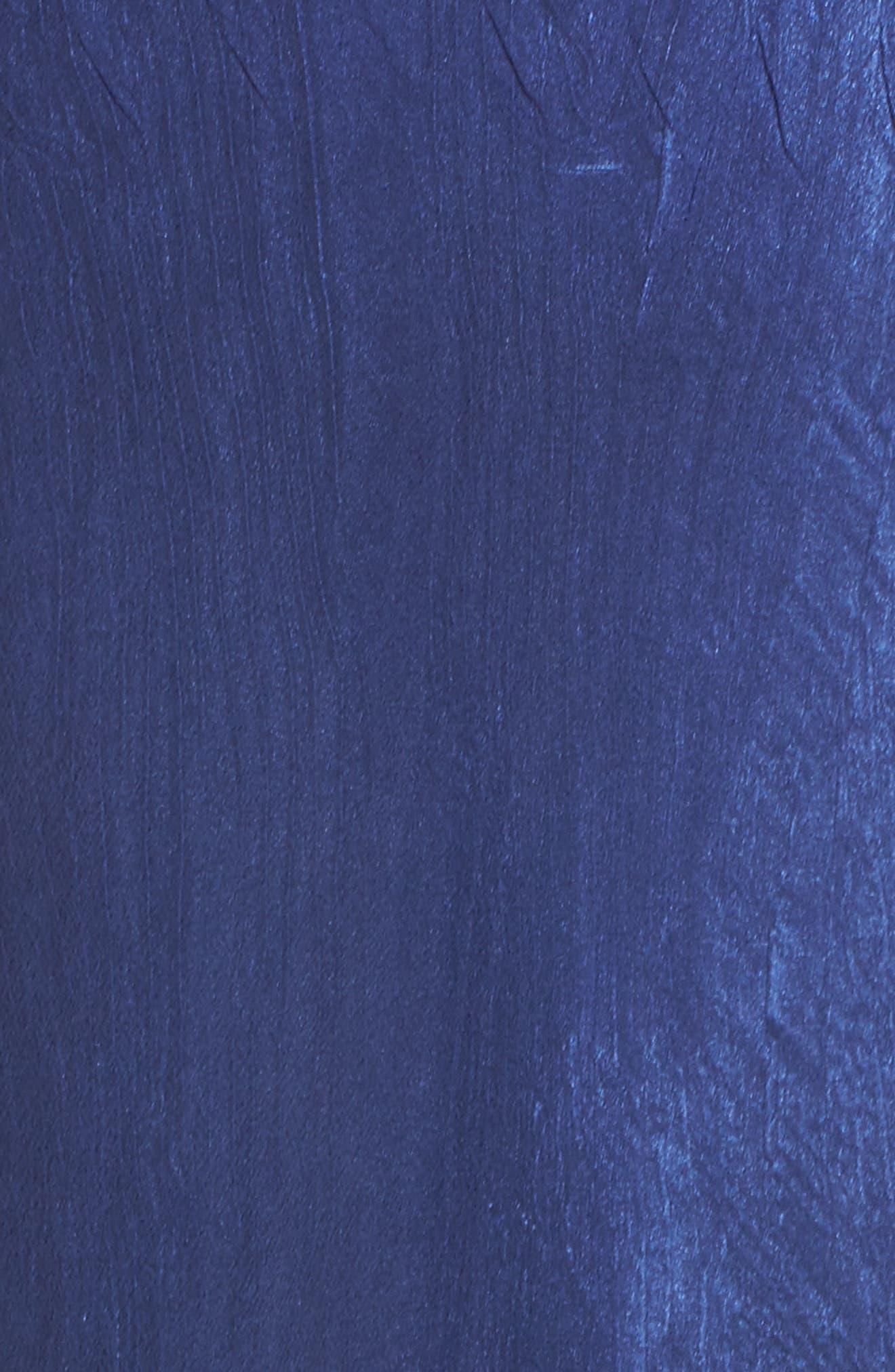 Alternate Image 5  - Komarov Ombré Lace & Chiffon Midi Dress (Regular & Petite)