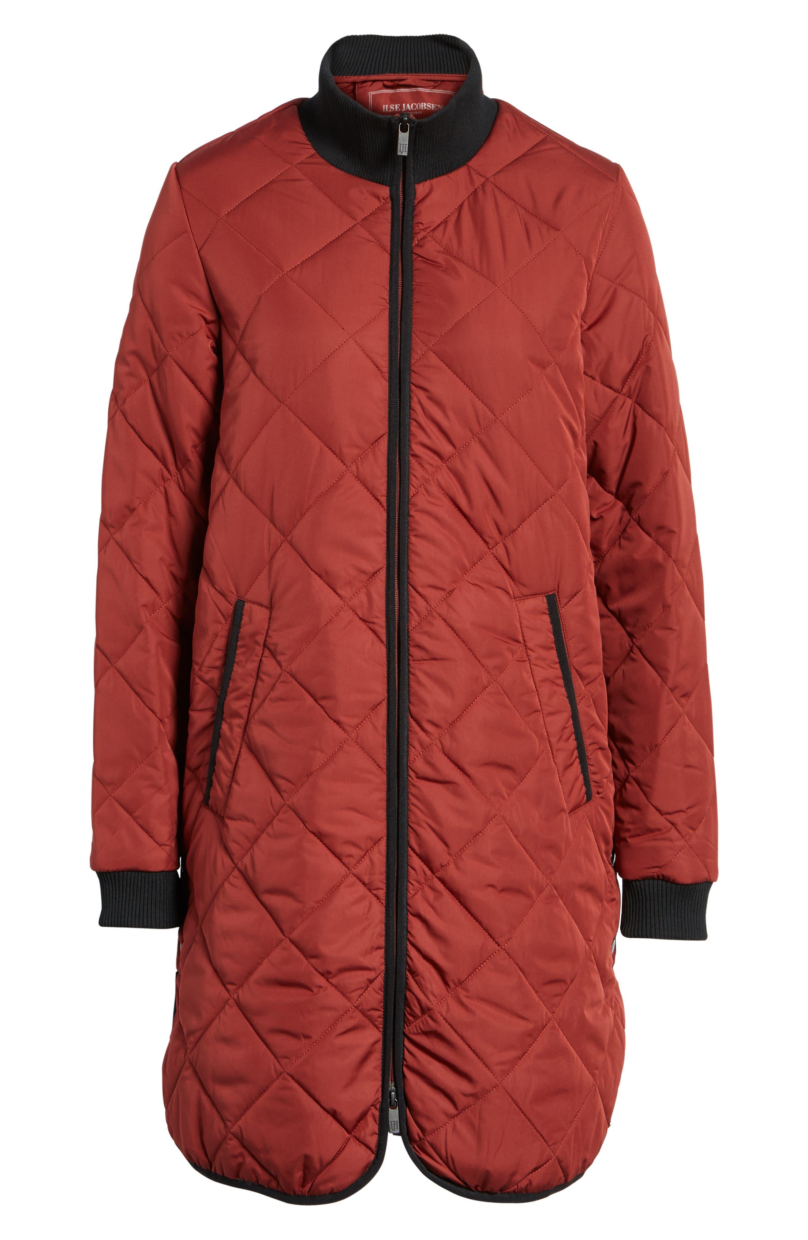 Alternate Image 6  - IIse Jacobsen Hornbaek Quilted Coat