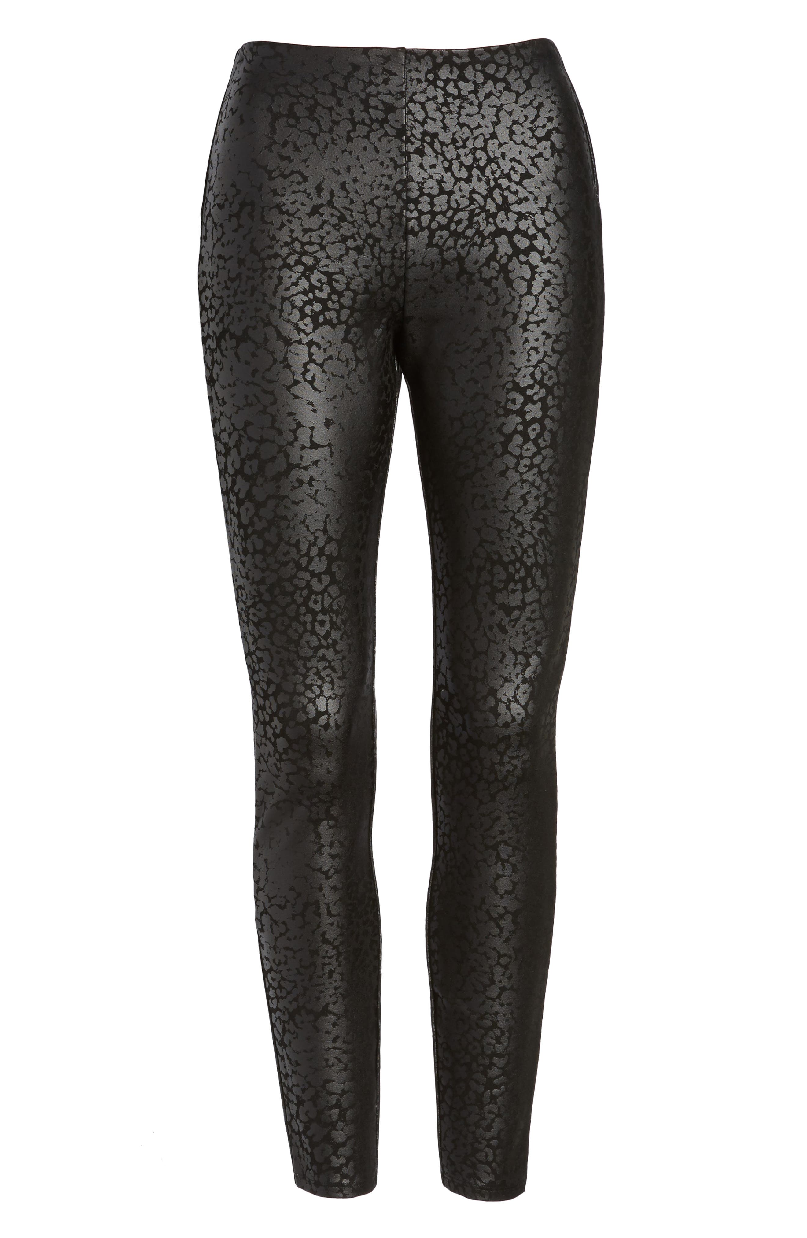 Willa Leggings,                             Alternate thumbnail 5, color,                             Liquid Leopard
