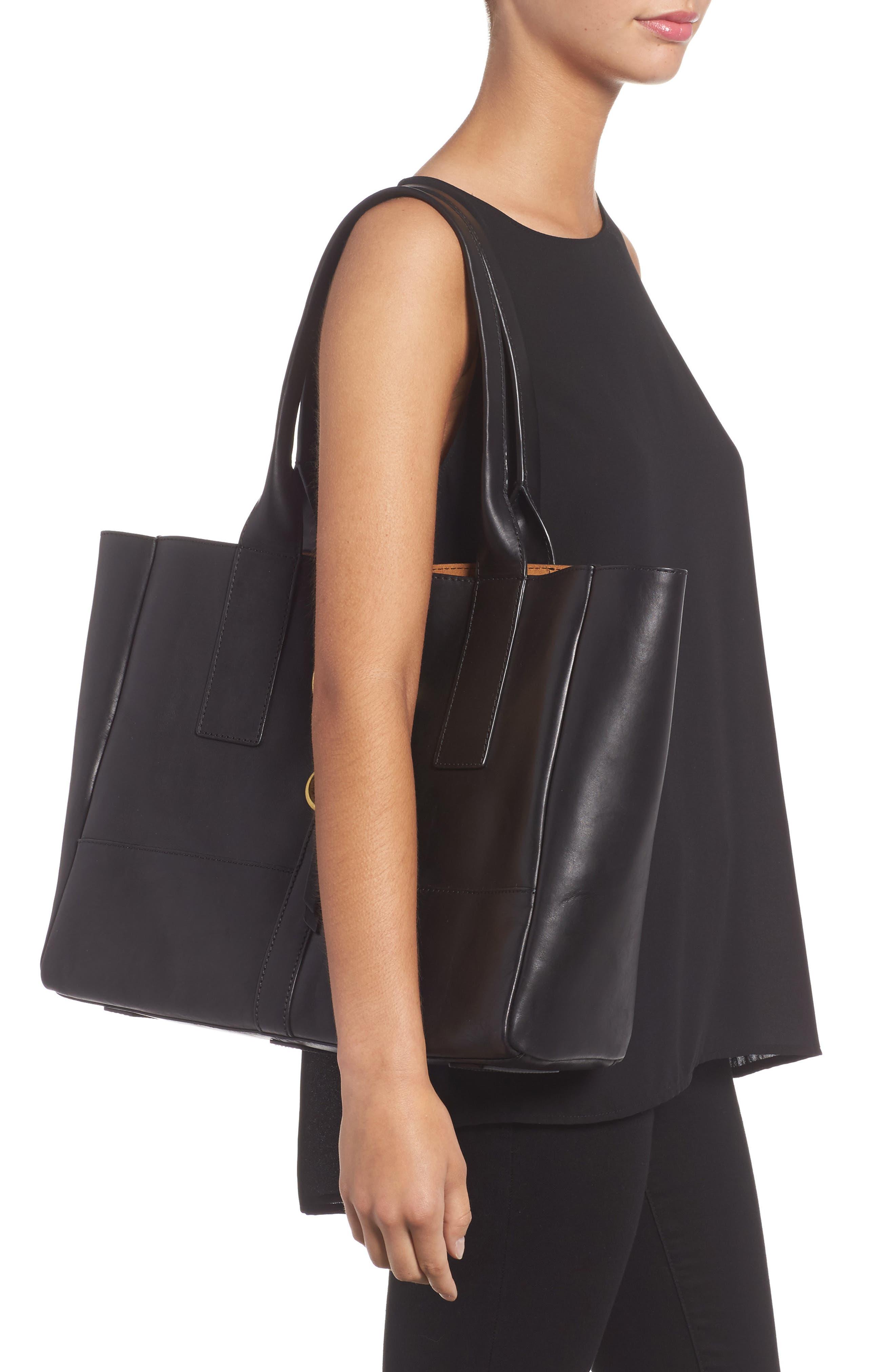 Alternate Image 2  - Frye Ilana Harness Leather Shopper