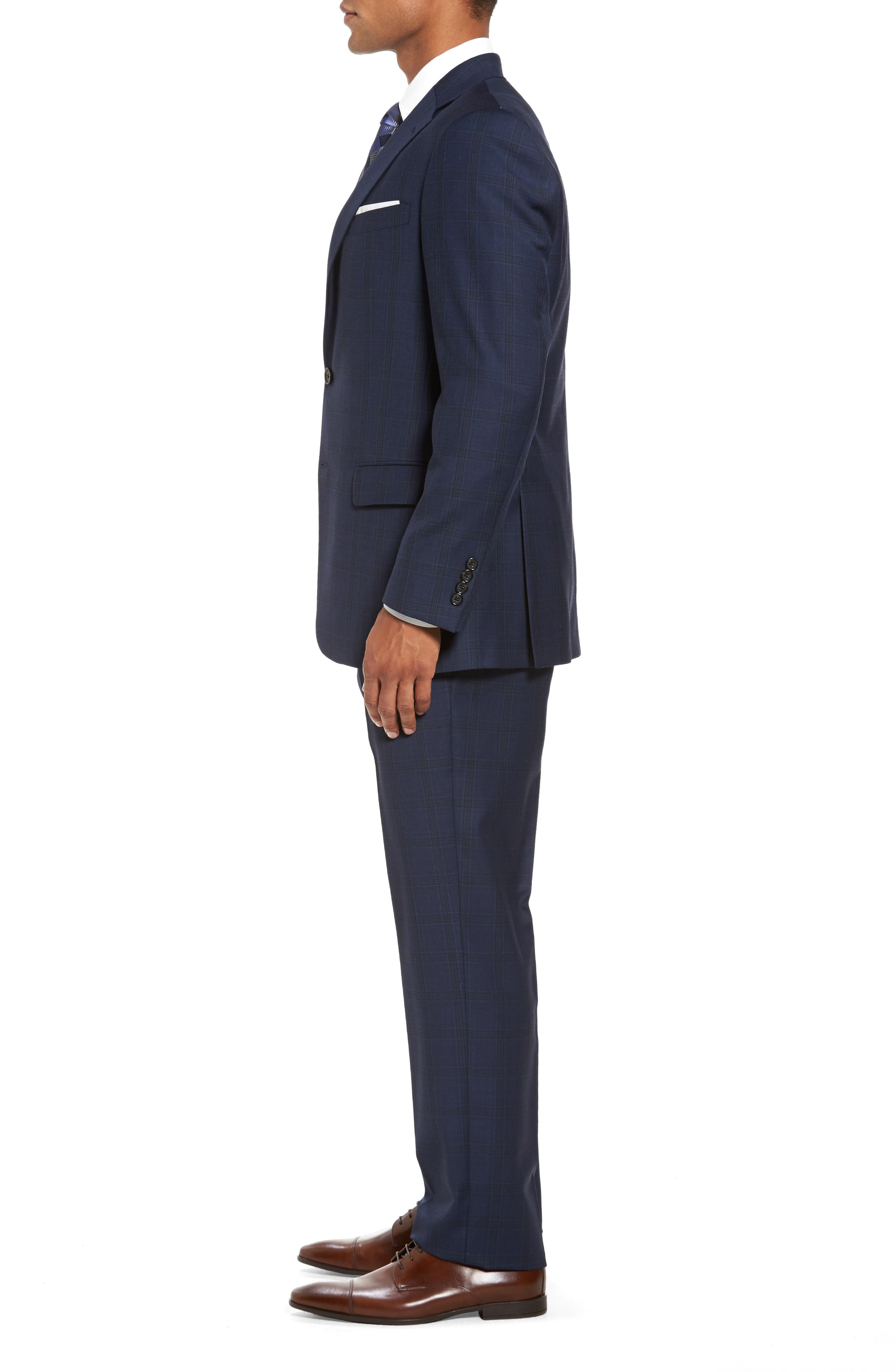 Alternate Image 3  - Hart Schaffner Marx Classic Fit Check Wool Suit