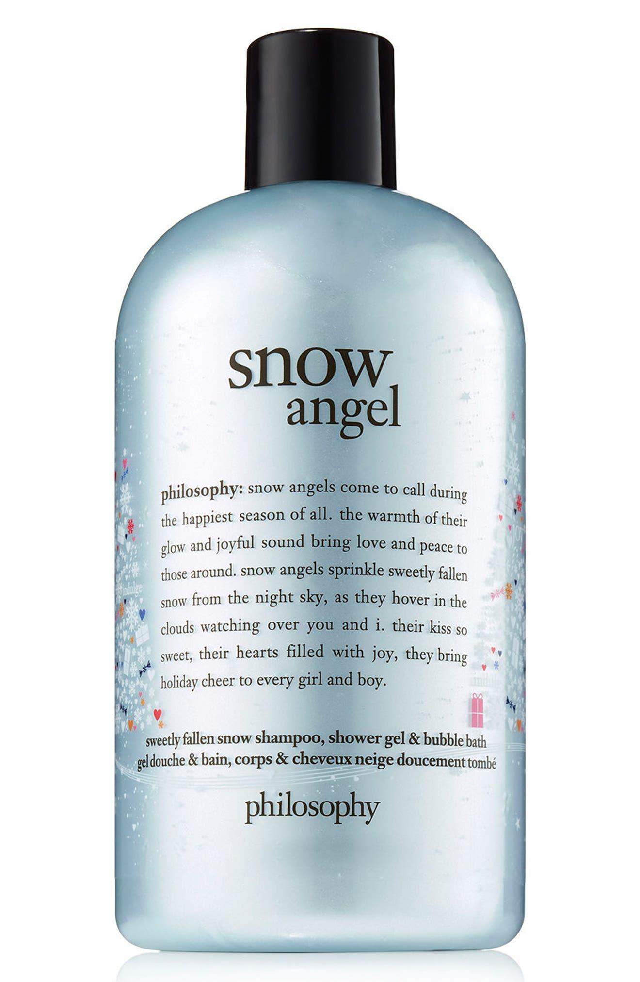 philosophy snow angel shampoo, shower gel & bubble bath (Limited Edition)